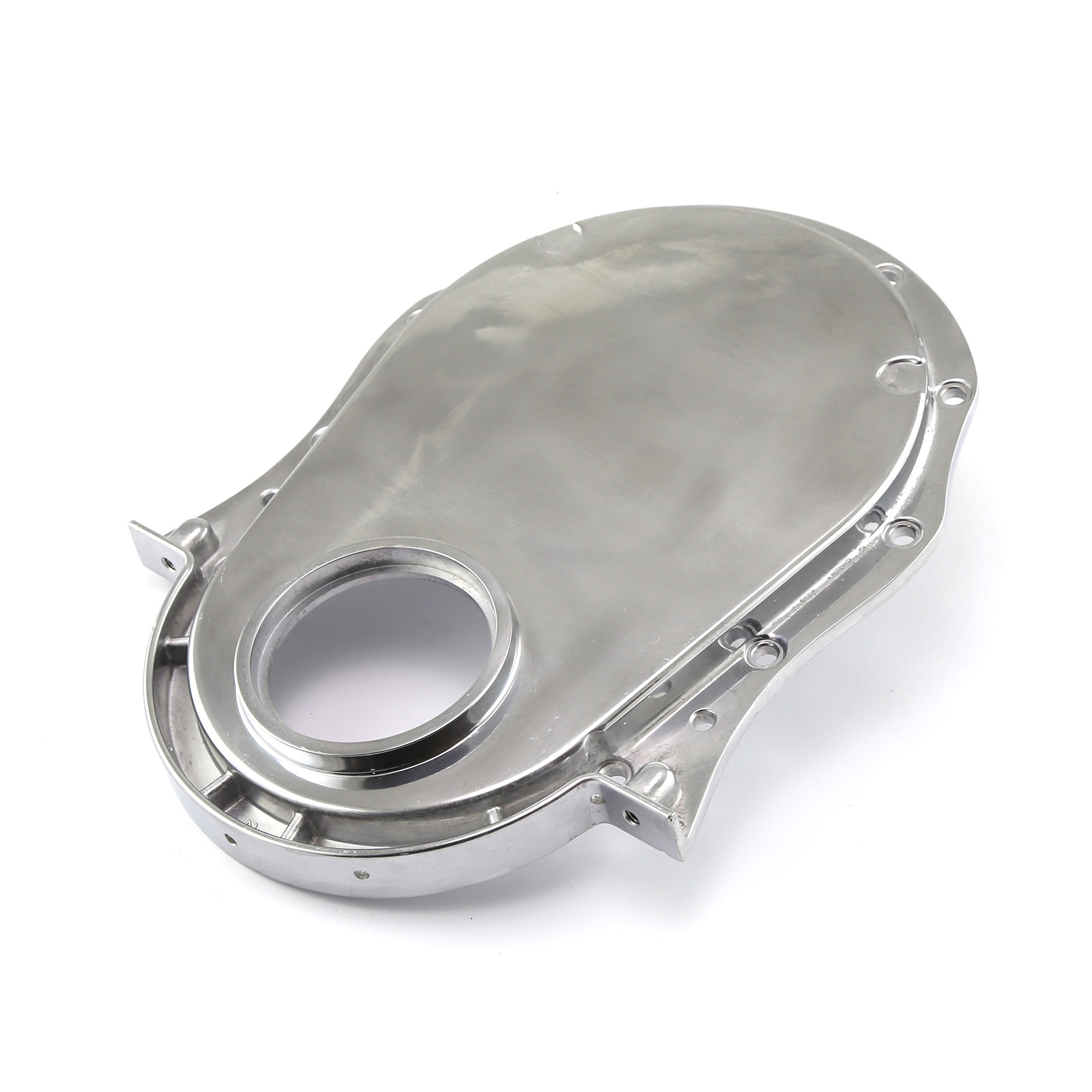 Chevy BBC 454 Gen 4 Aluminum Timing Chain Cover Polished
