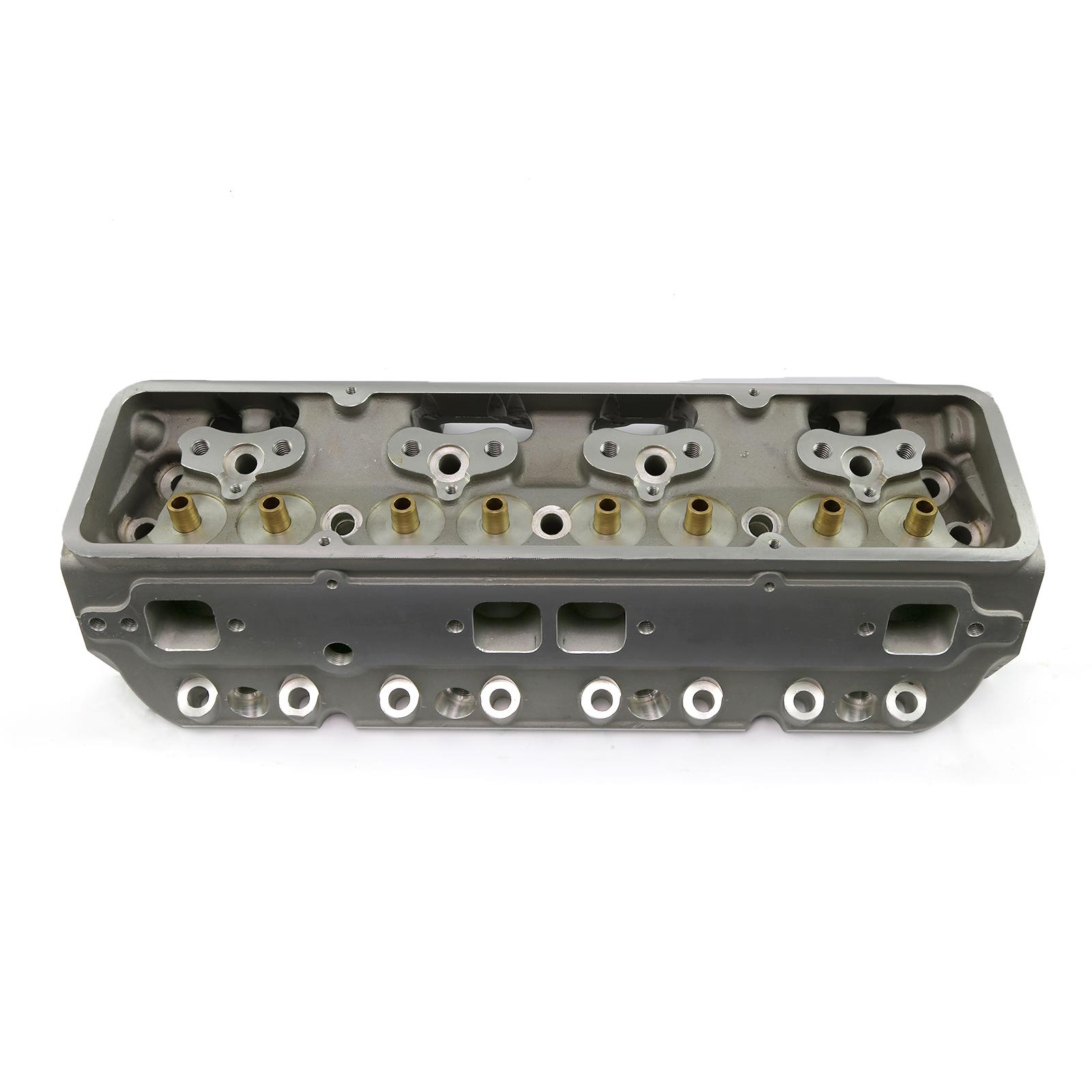 PCE® PCE281.1197 Chevy SBC 350 205cc 59cc Straight CNC Chamber Aluminum Bare Cylinder Head