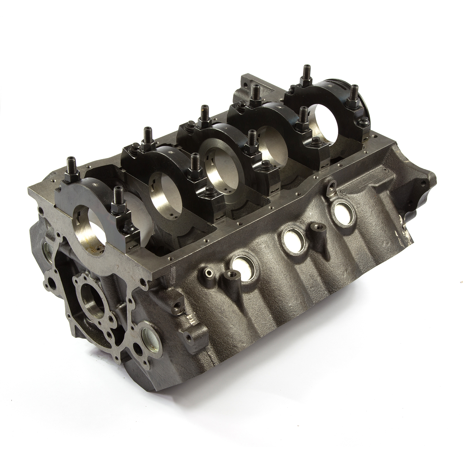 Ford 351W Windsor B-4.125 M-2.75 DH-9.5 Billet Main Iron Engine Block USA Machined