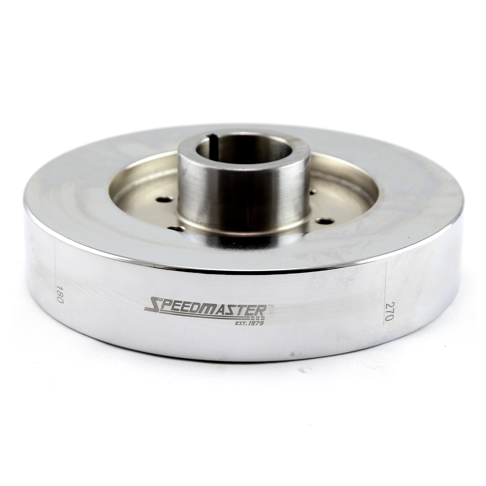 "Ford BBF 429 460 7.25"" Internal SFI Fluid Harmonic Balancer Damper Chrome"