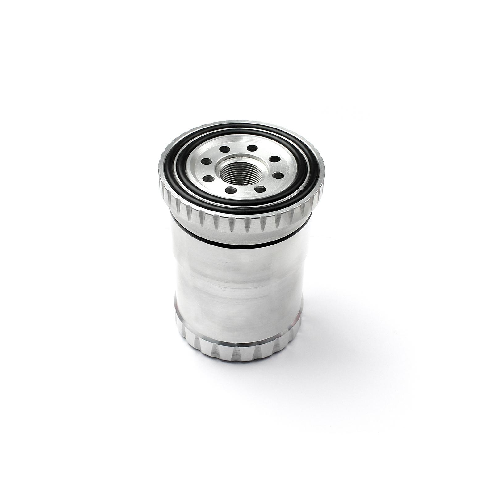 Speedmaster Engine Oil Filter PCE298.1002; Natural Billet Aluminum Cannister
