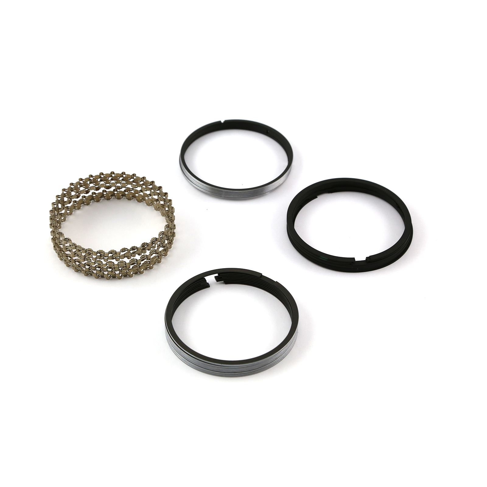 "4.020"" Bore - 1/16 - 1/16 - 3/16 Plasma Moly Piston Ring Set"