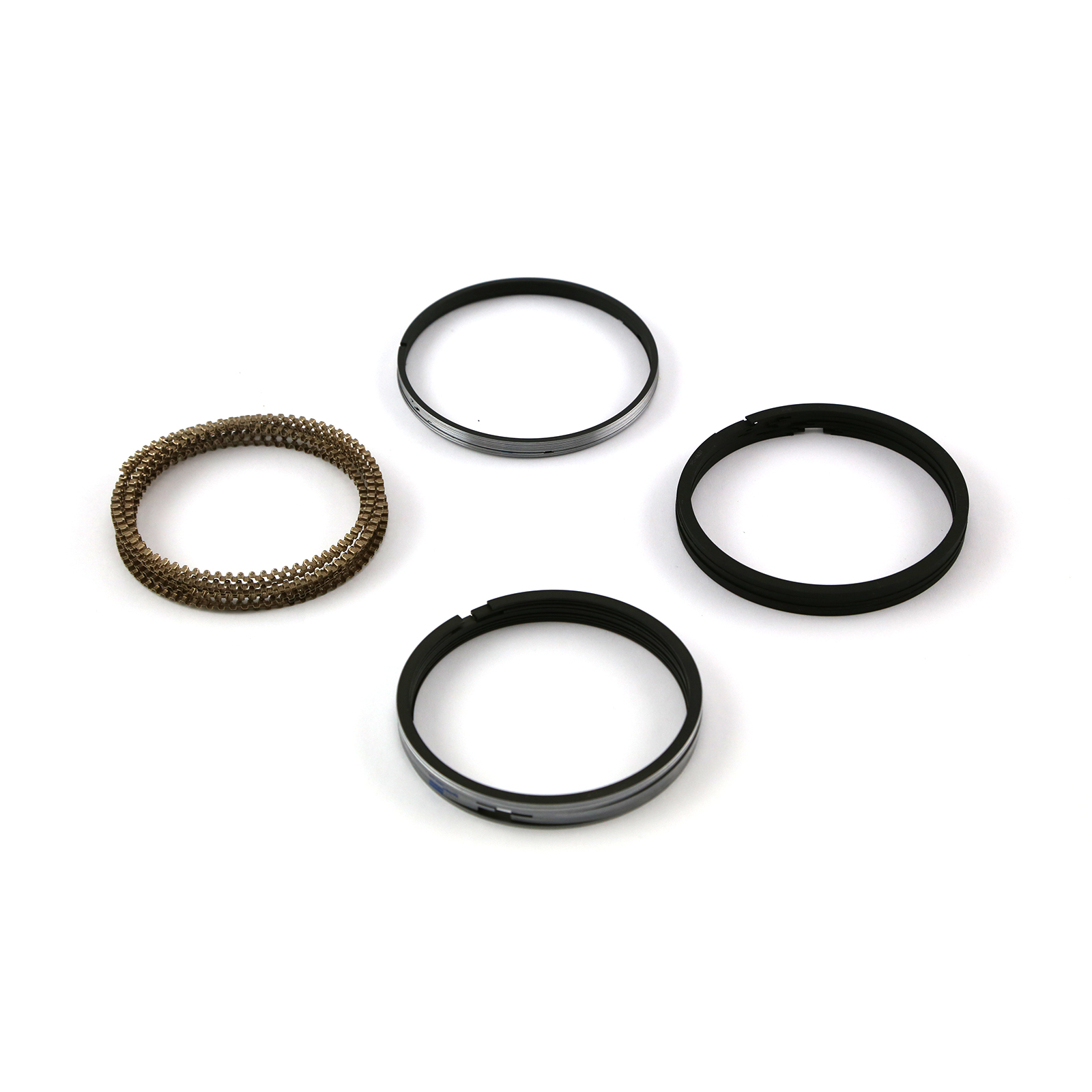 "4.060"" Bore - 1.5 - 1.5 - 3mm Plasma Moly Piston Ring Set"