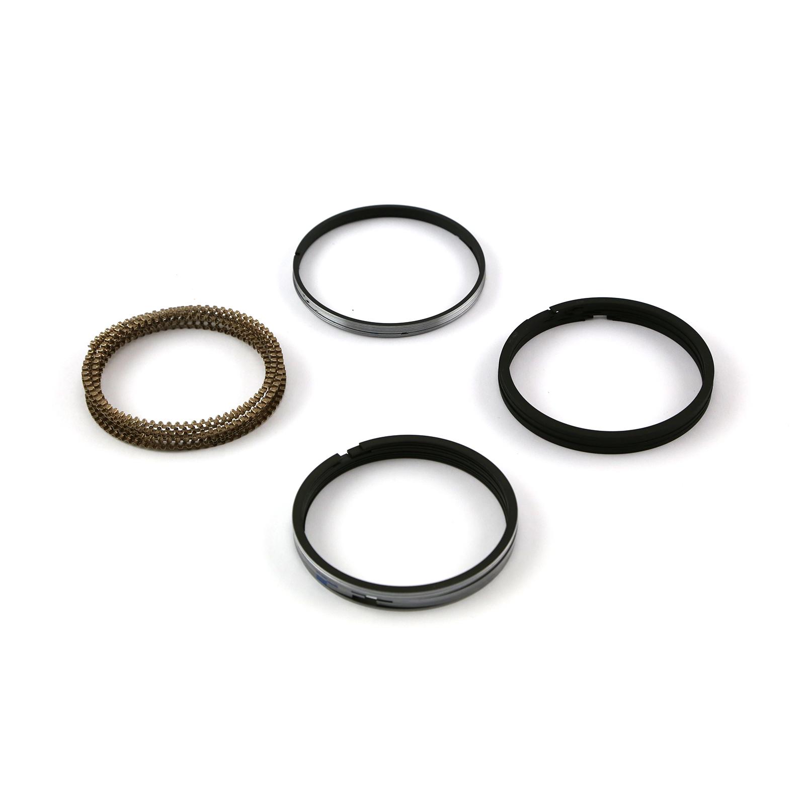 "4.060"" Bore - 1.5 - 1.5 - 3mm Plasma Moly Piston Ring Set"