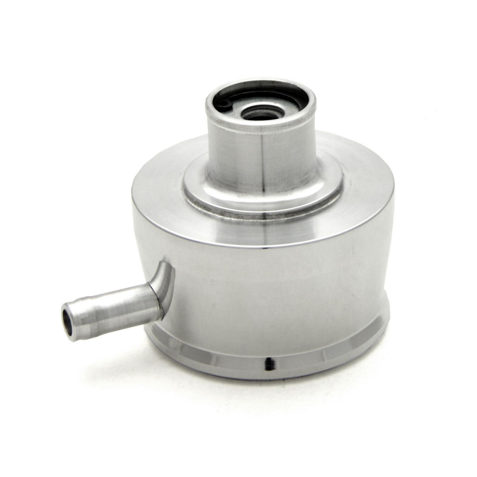 Aluminum Valve Cover Breather Cap & Gromment w/Pcv Valve & Vent Tube to -Push In