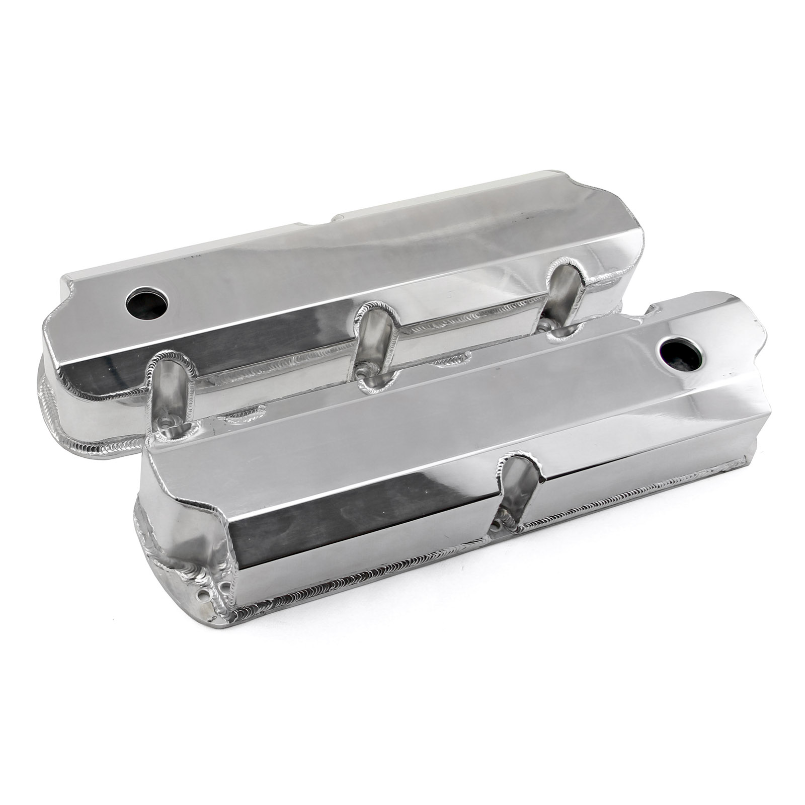 Ford Windsor 351 Fabricated Tall Aluminium Valve Covers FREE SHIPPING