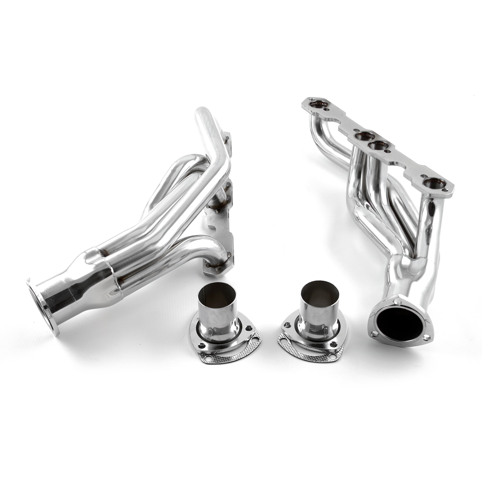 Chevy SBC 350 Chevelle Camaro 1967-81 Chrome Exhaust Headers