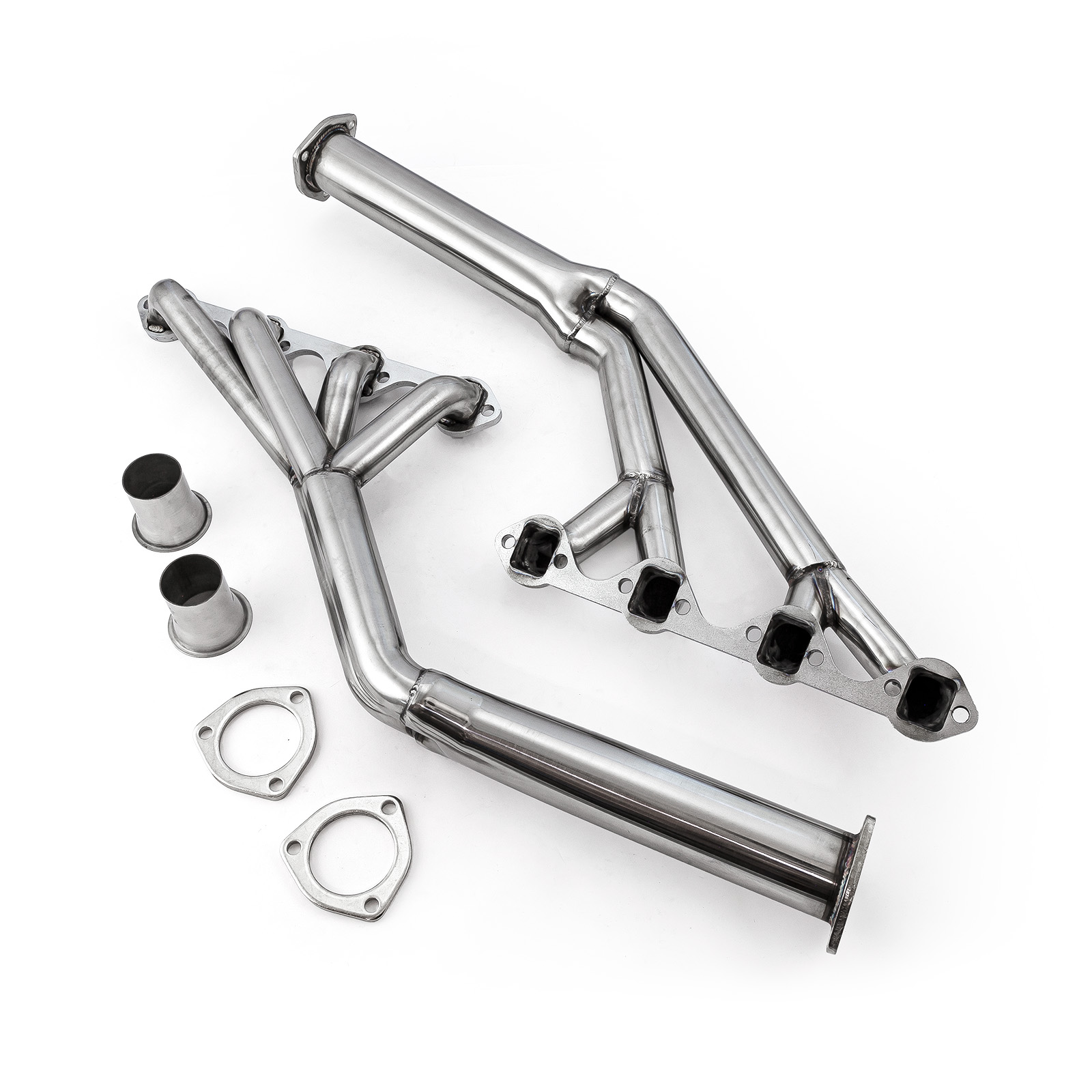 Ford SB 289 302 351W Mustang 1964-70 Tri-Y Stainless Steel Exhaust Headers