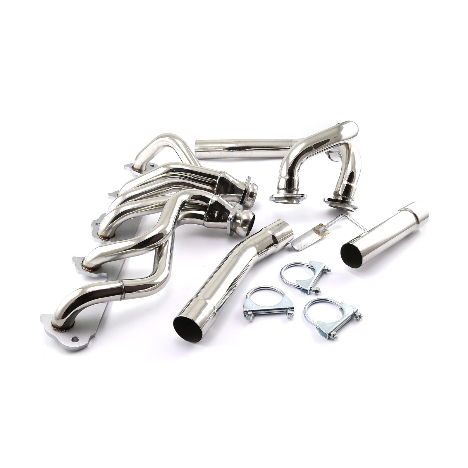 1991 1999 Jeep Wrangler 4.0L Stainless Steel Header & Down Pipe Kit
