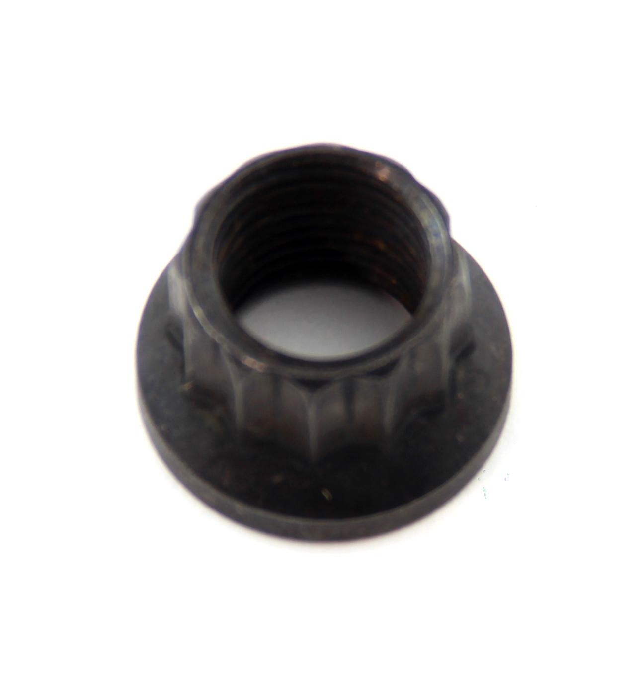 """3/8"""" x 16 Unc Black Oxide 12 Point Hex Nut"""