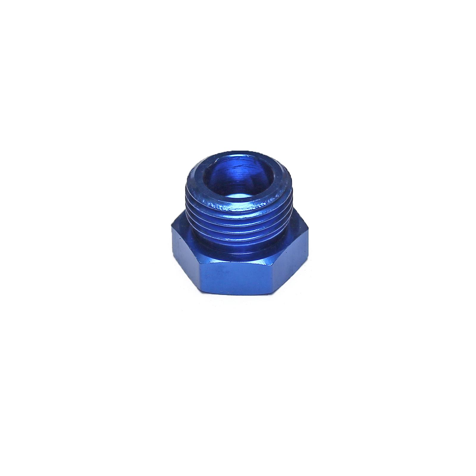 Aluminum Orb Port Plug -8 AN