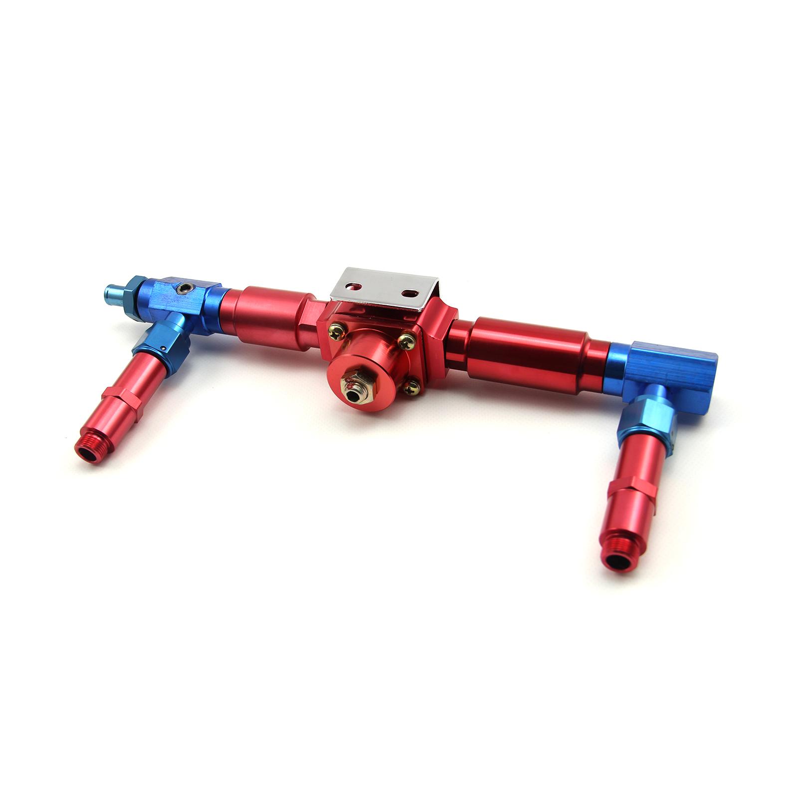 9/16-24 Aluminum Carburetor Fuel Inlet Log & Regulator (Suits: BG & Speedmaster)