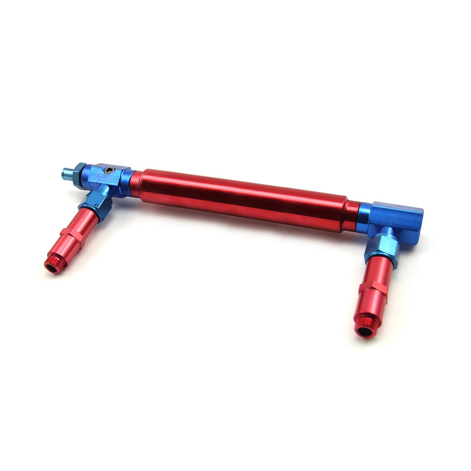9/16-24 Aluminum Carburetor Fuel Inlet Log (Suits: Barry Grant BG & Speedmaster)