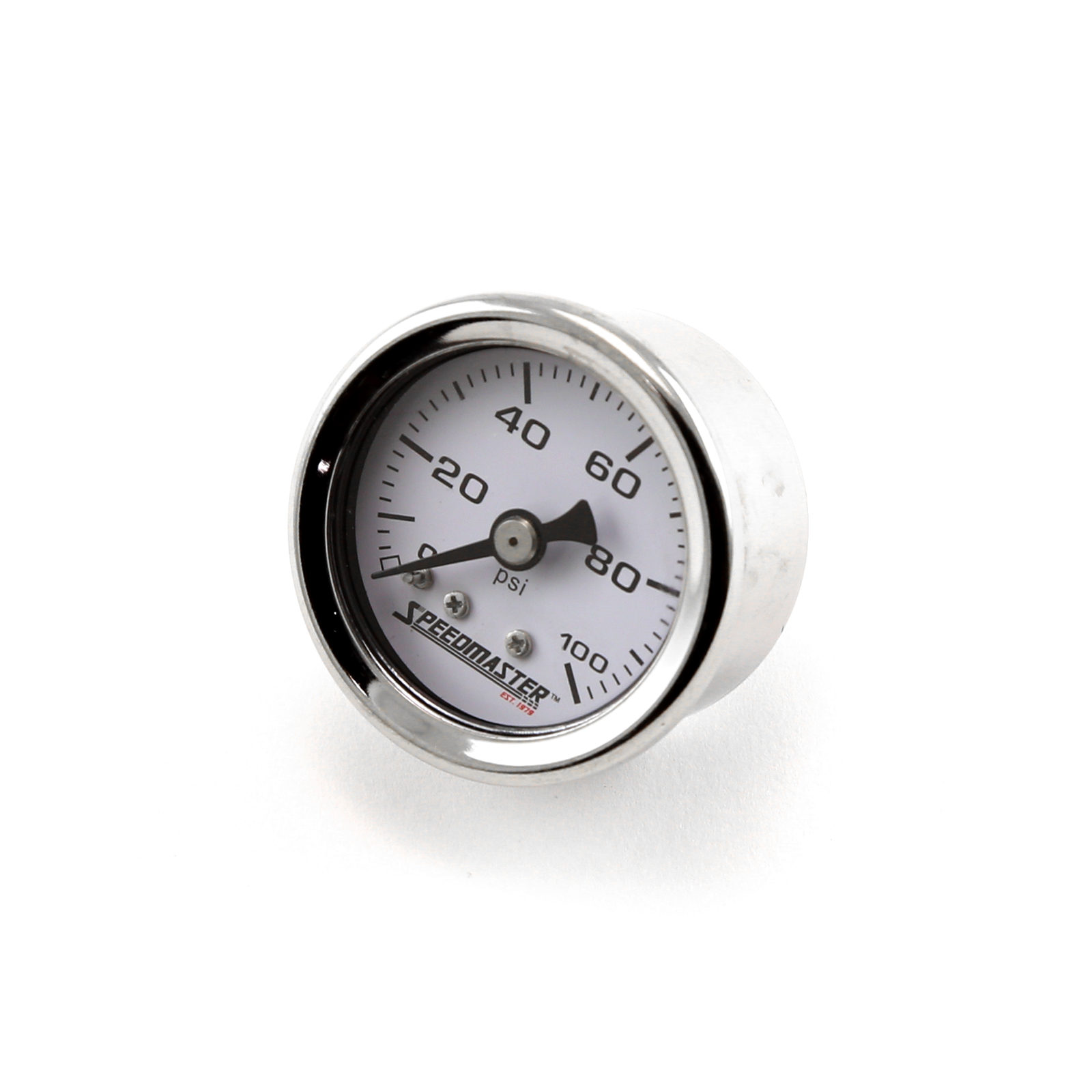 "1-1/2"" 0-100psi Fuel Pressure Gauge (Non Liquid)"