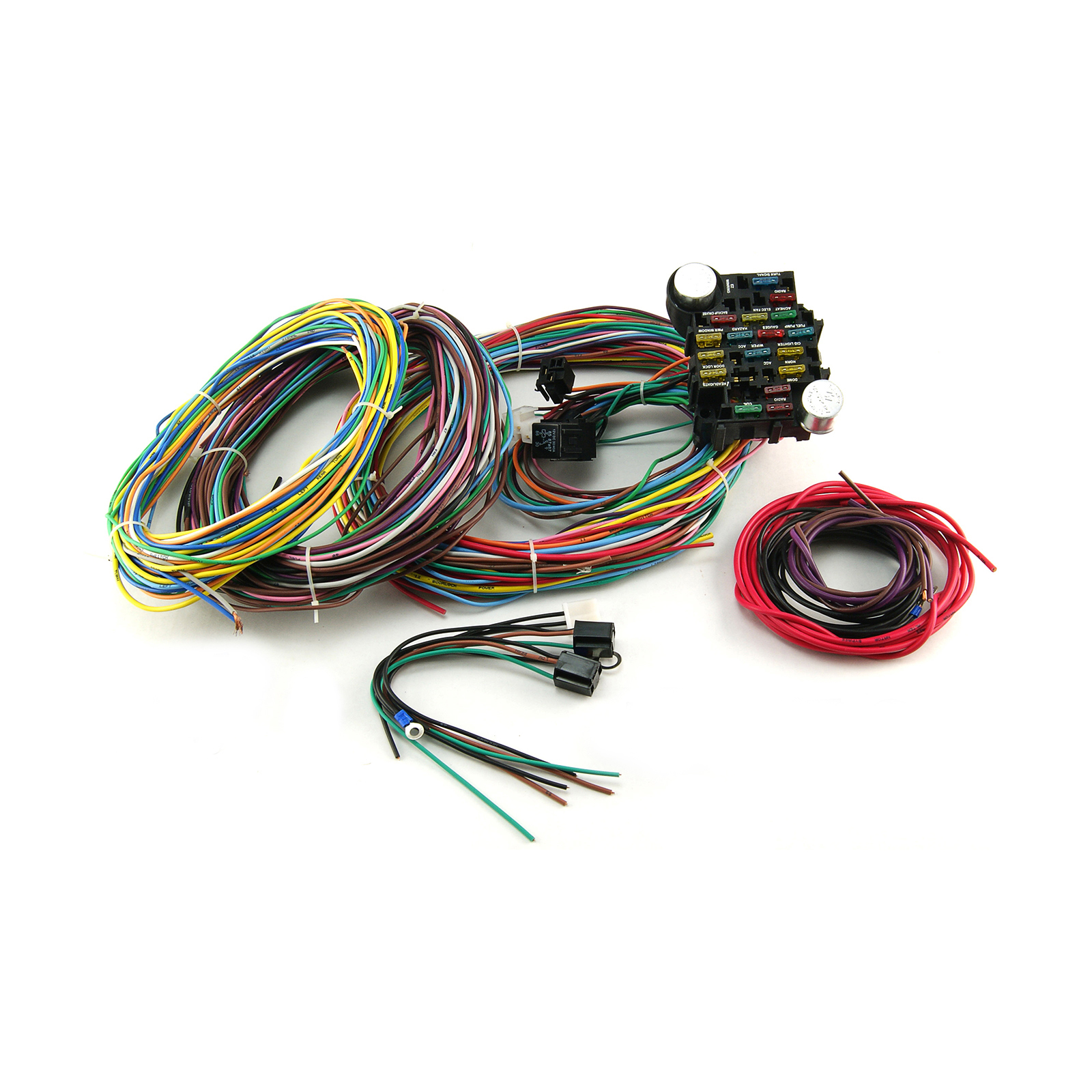 Universal 22 Circuit Wiring Harness Kit