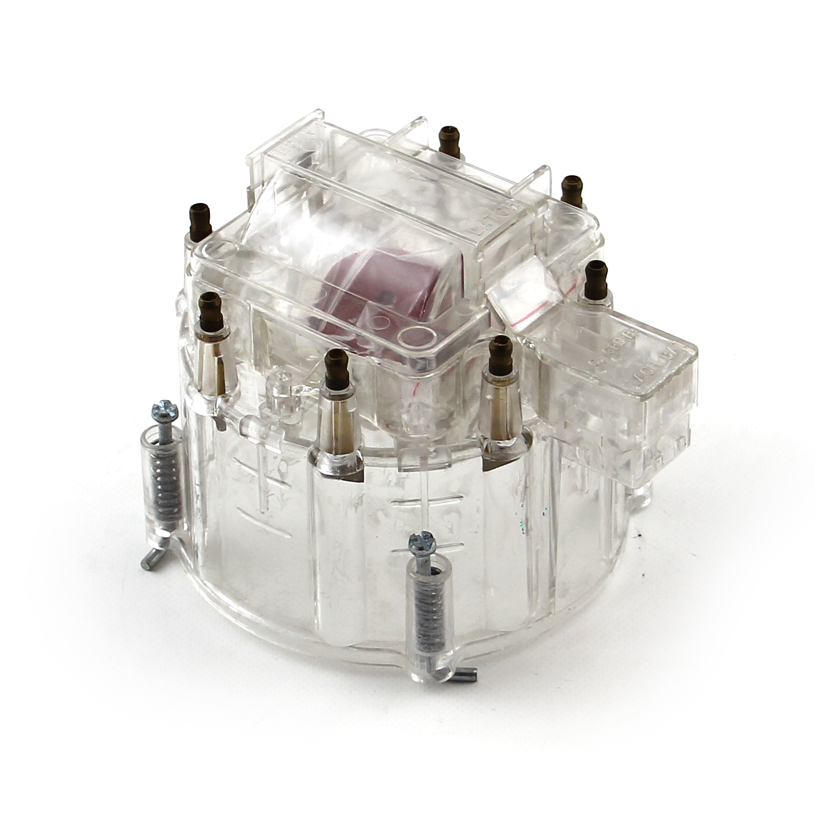 HEI Distributor Cap and Coil Cover - Clear