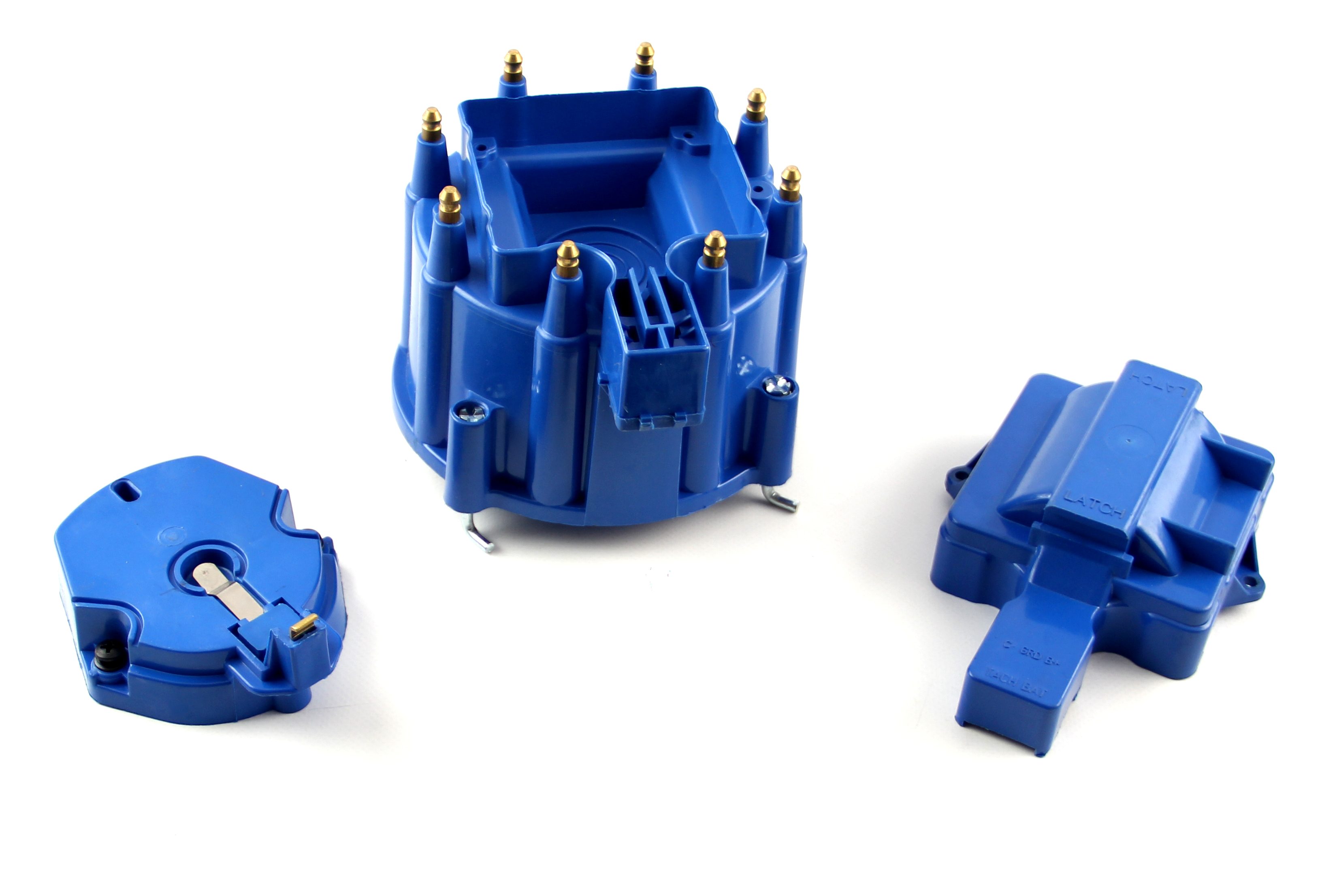 HEI Distributor Cap and Coil Cover - Blue