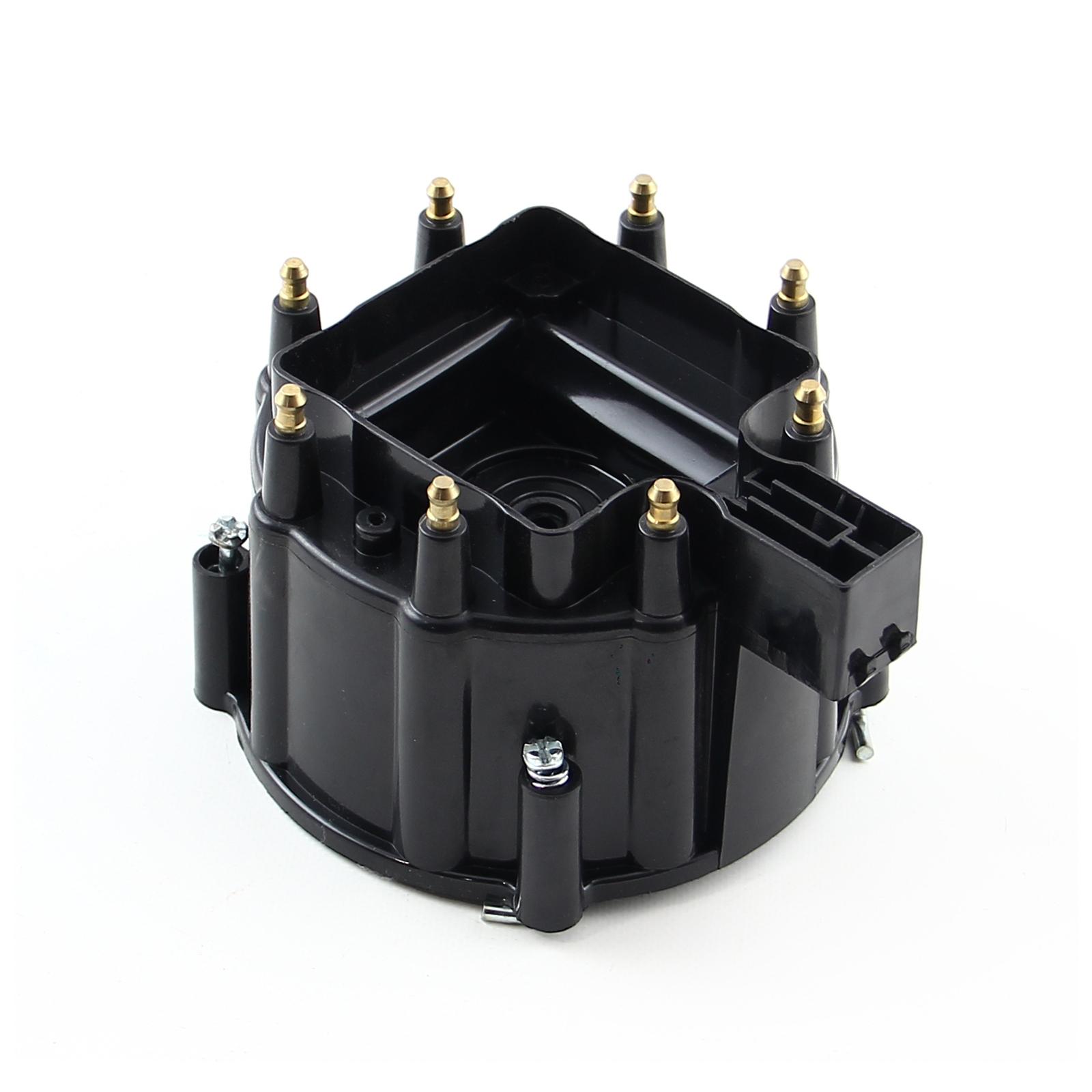 HEI Replacement Distributor Cap Brass Terminals - Black