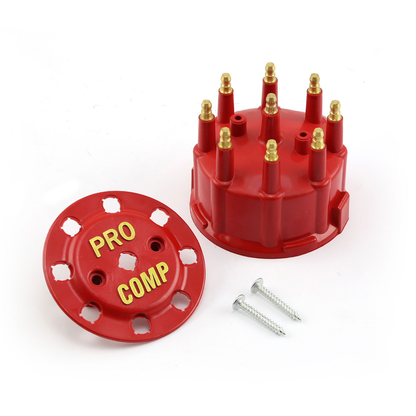 7000 and 8000 Series Male Std Distributor Cap - Red