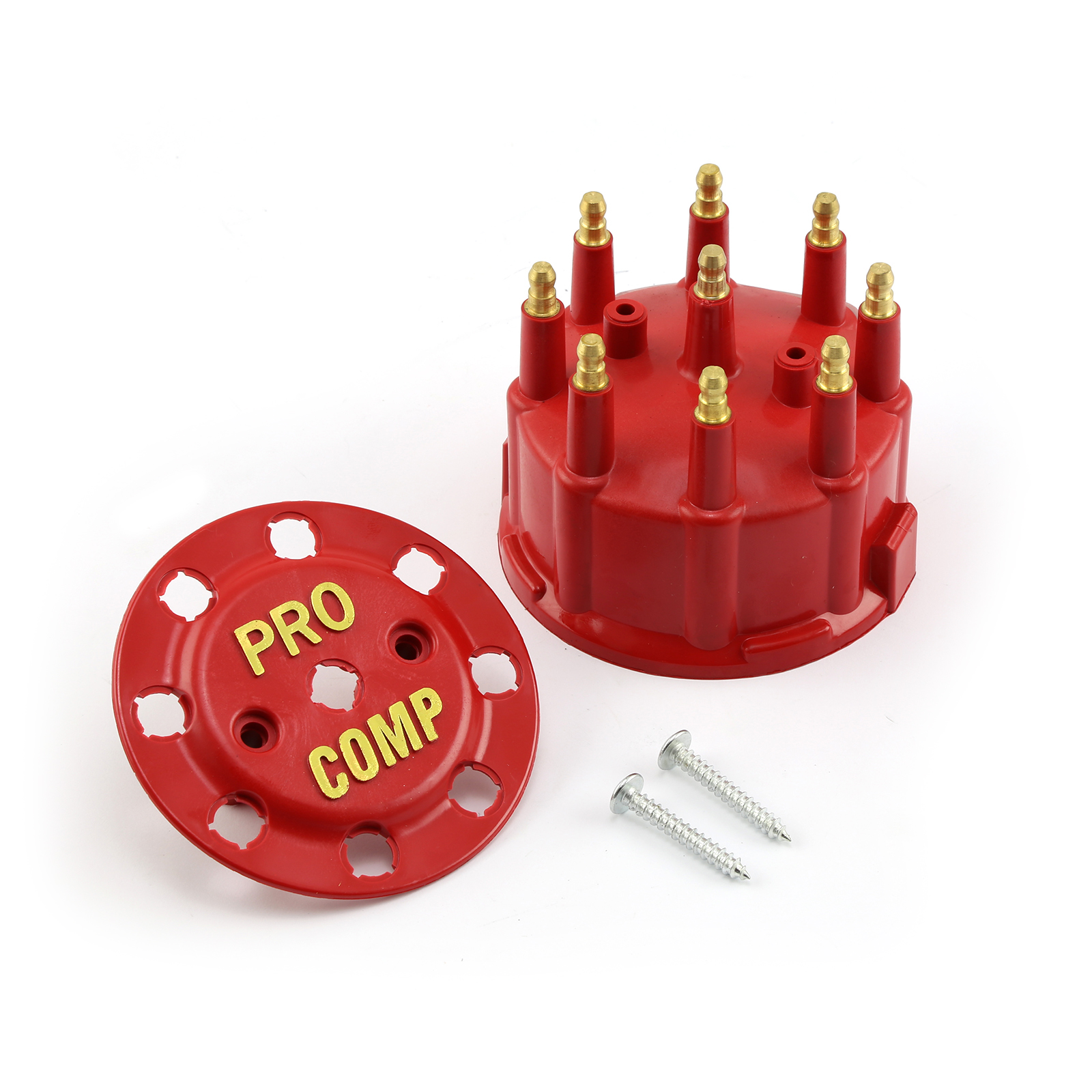 7000 and 8000 Series Male 90.2 Distributor Cap - Red