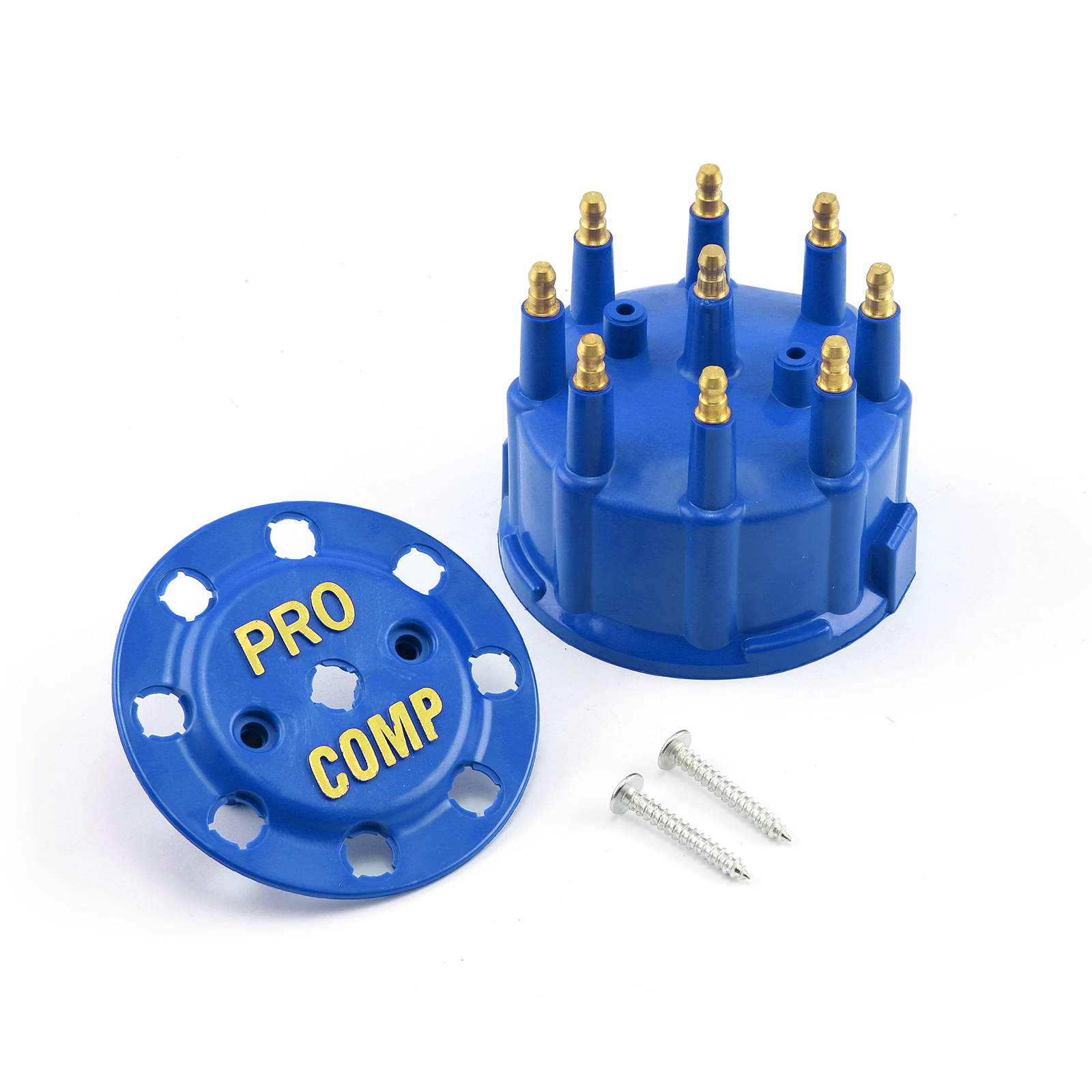 7000 and 8000 Series Male Std Distributor Cap - Blue