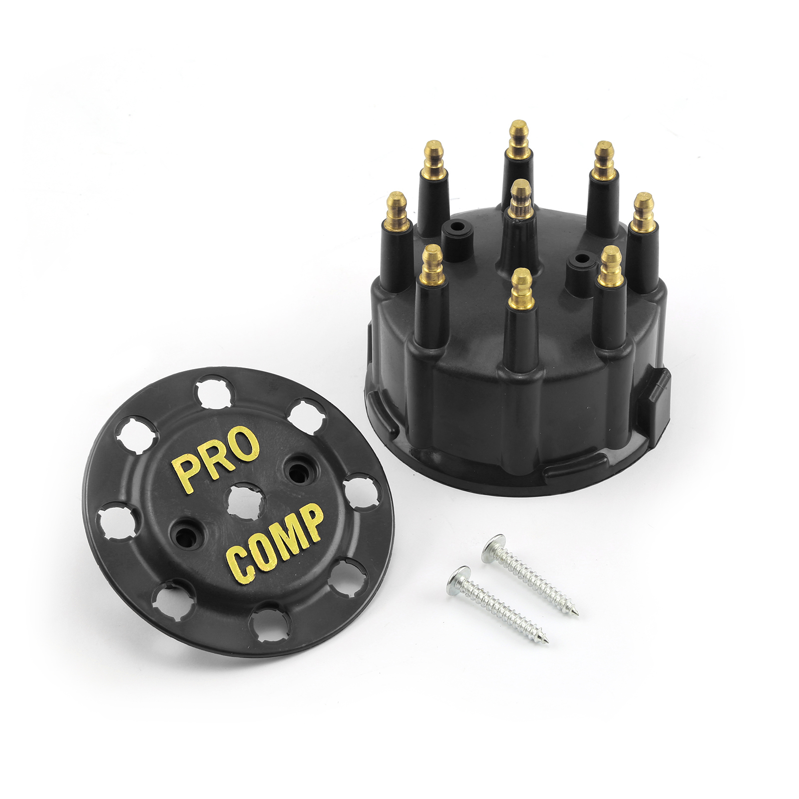 7000 and 8000 Series Male 90.2 Distributor Cap - Black