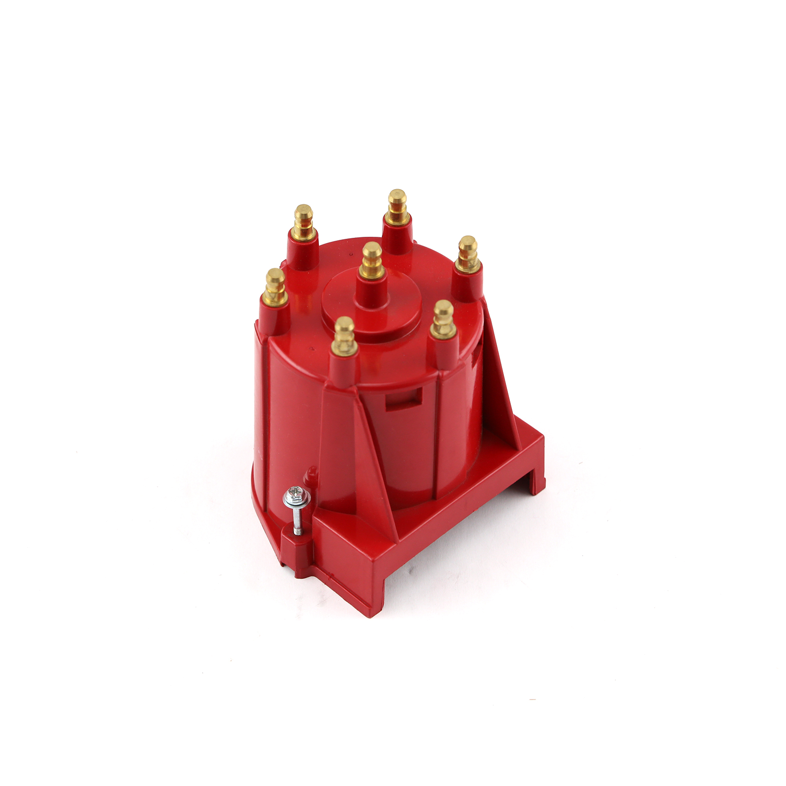Pc10001-6 Series Replacement Distributor Cap Brass Terminals - Red