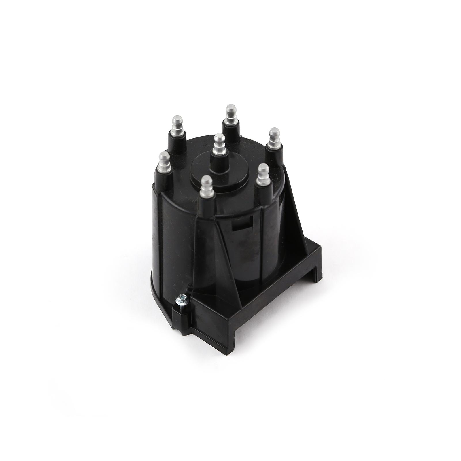 Pc10001-8 Series Replacement Distributor Cap Brass Terminals - Black