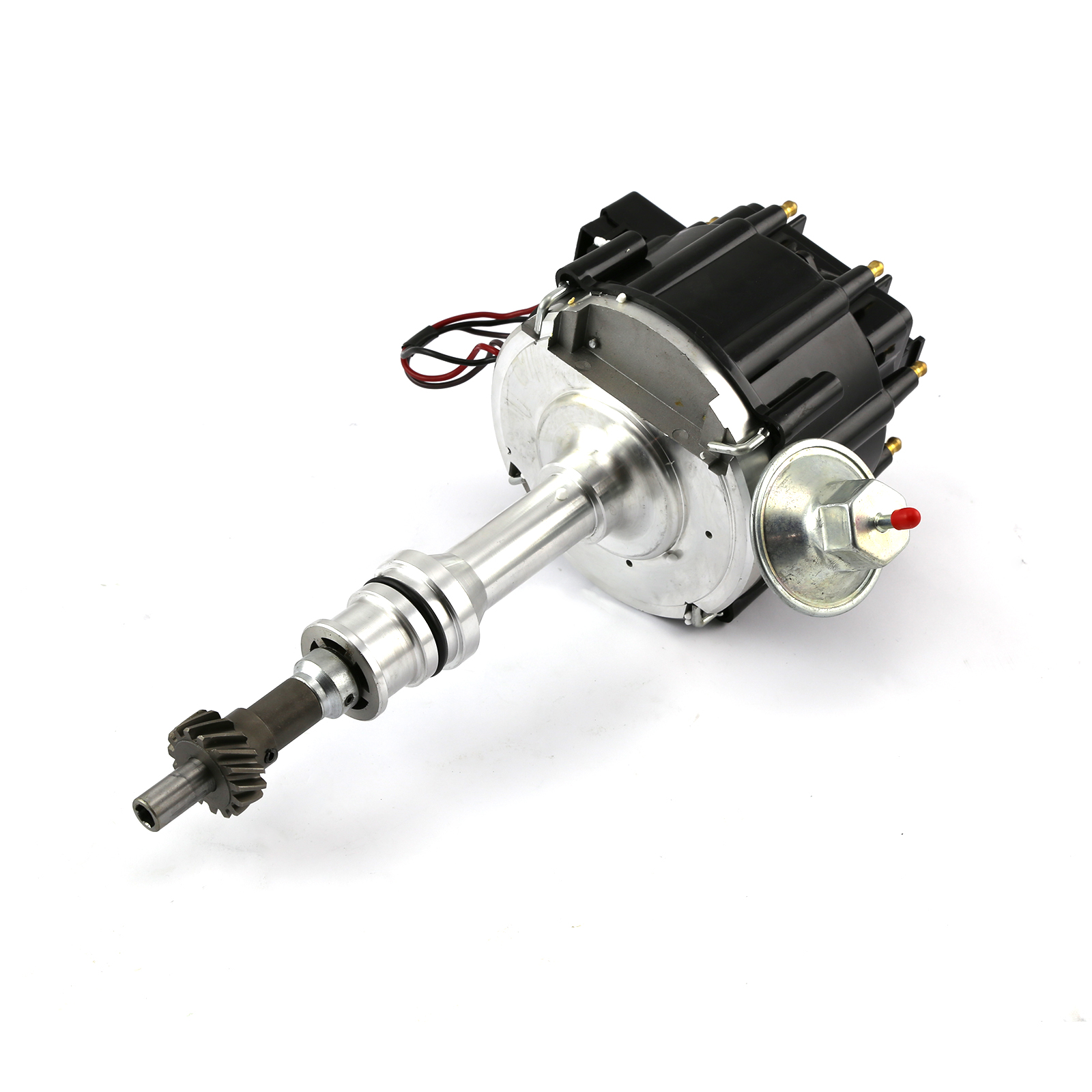 Ford 302 351C Cleveland 460 Early 6000 Series 65K Coil HEI Distributor [Black]
