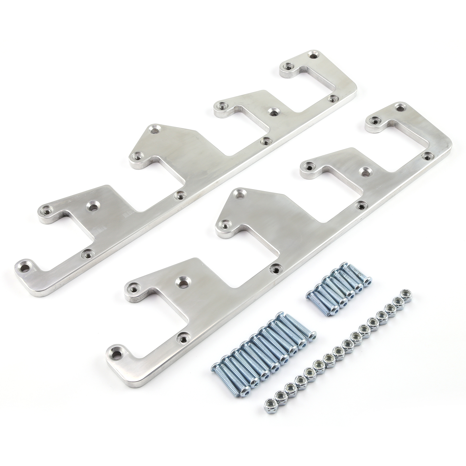 Gm Ls3 Wiring Diagram Igniter Lsx Ls2 Polished Billet Aluminum Coil Pack Bracket Kit With Hardware