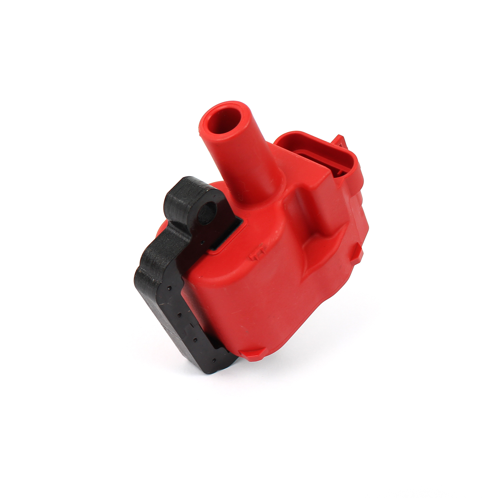 Chevy Gm LS1 LS6 12V High Output External Female E-Poxy Ignition Coil Red