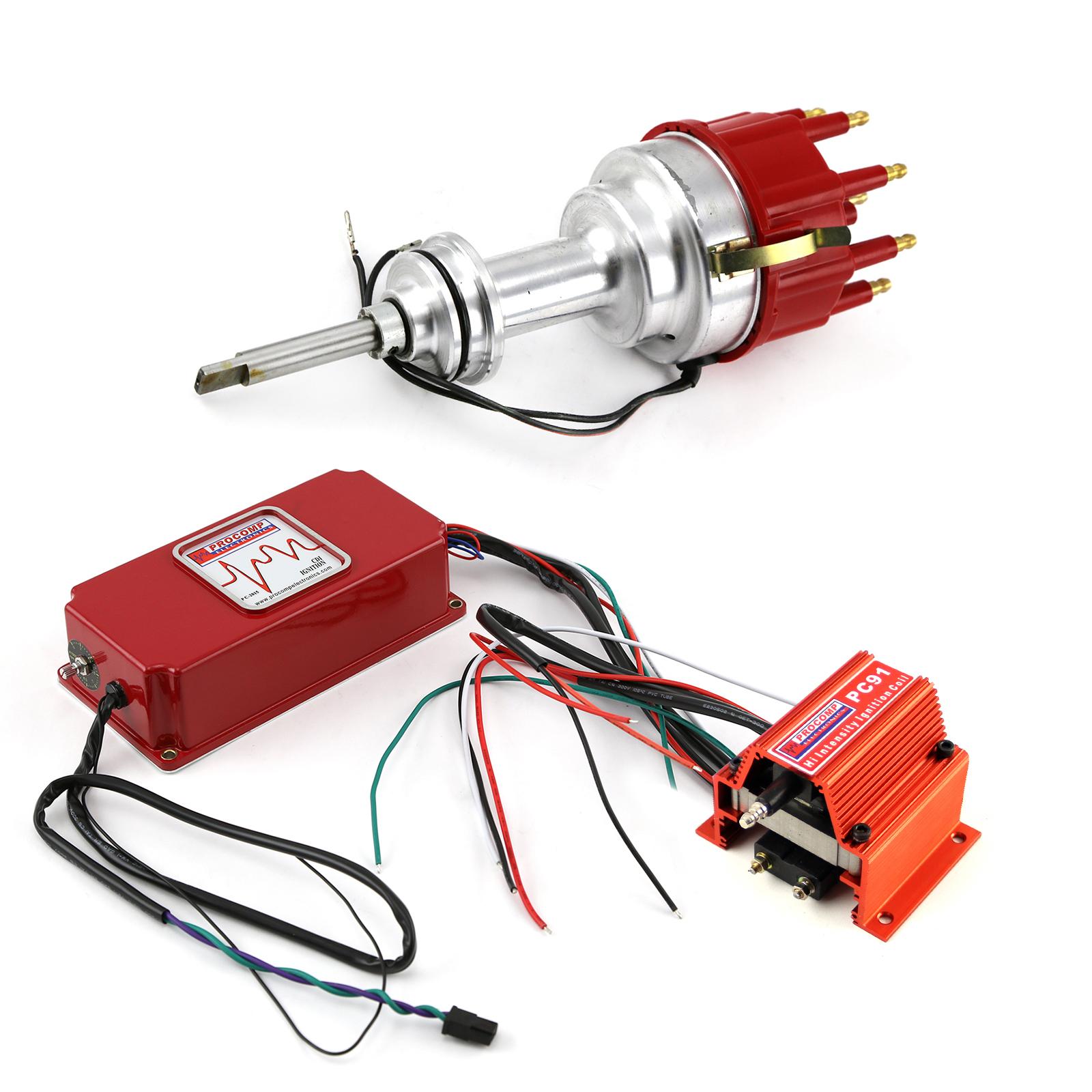 Mopar Chrysler BB 440 Pro Billet Distributor 6AL CDI Ignition & Coil Kit