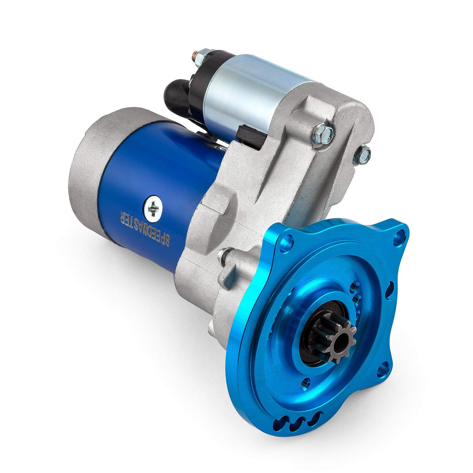 Ford Fe 390 428 3 Bolt Automatic Mini Muscle 4Hp Starter Motor Blue