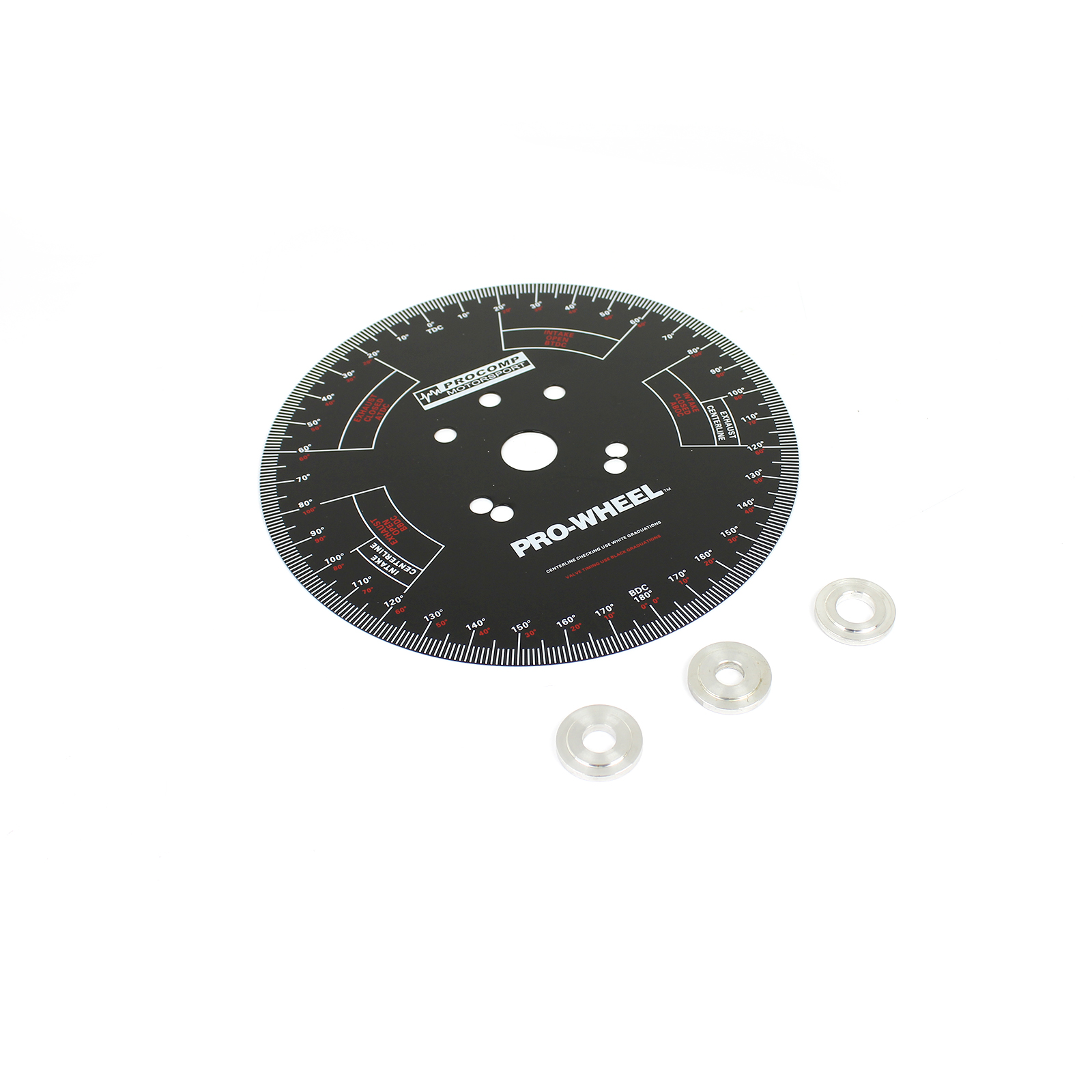 "10"" Universal Pressed Steel Camshaft Timing Degree Wheel"
