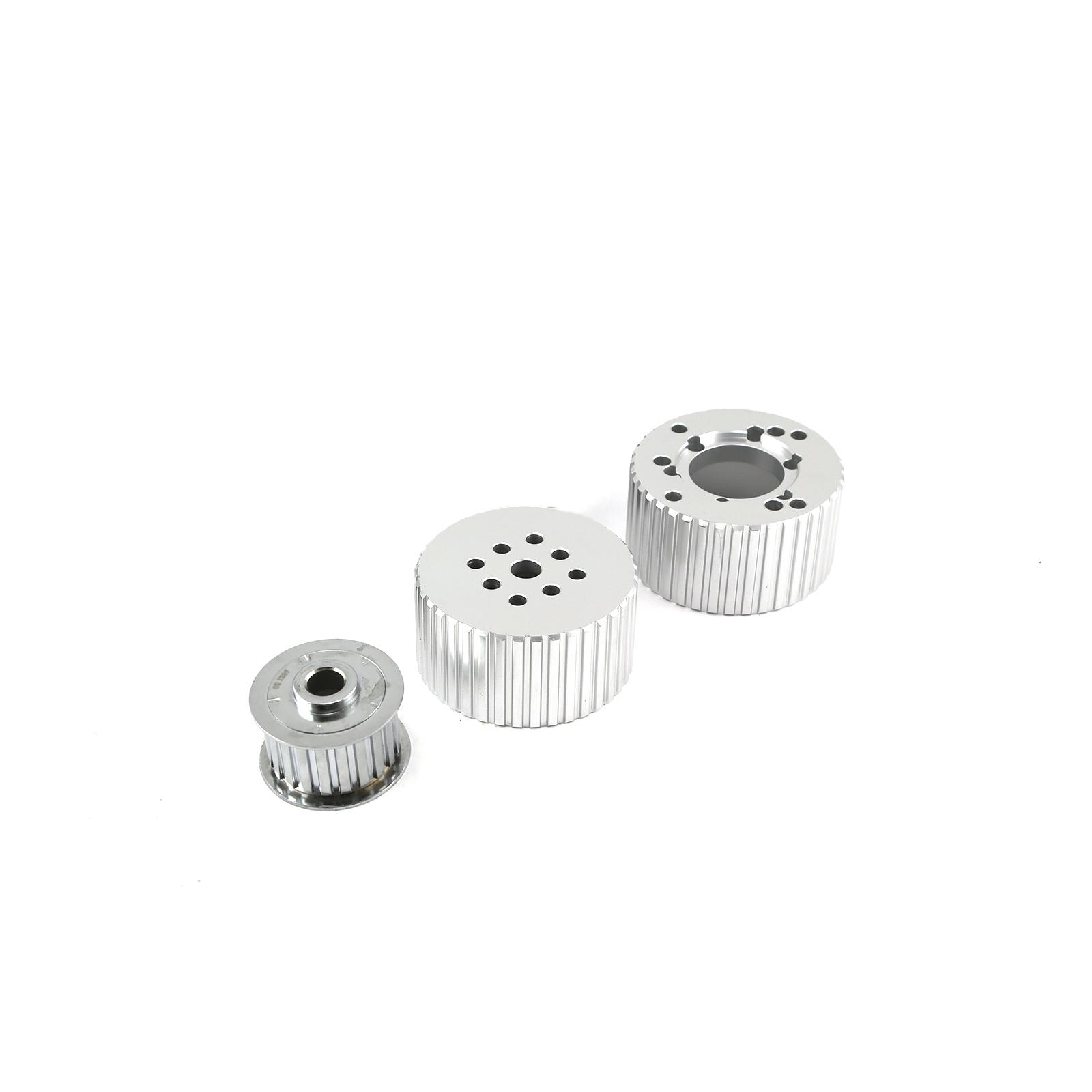Short Gilmer Crank Alternator and Water Pump Pulleys Only