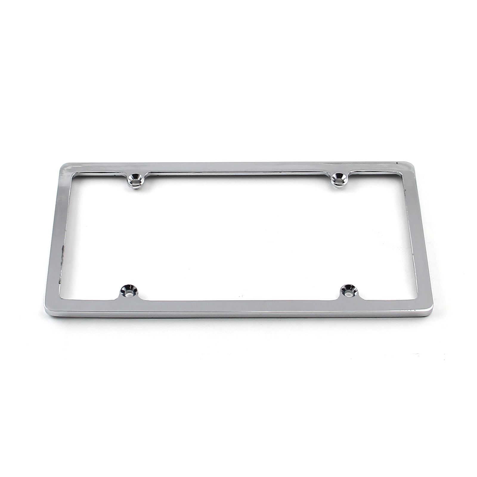 Chrome License Plate 4 Hole Frame Only