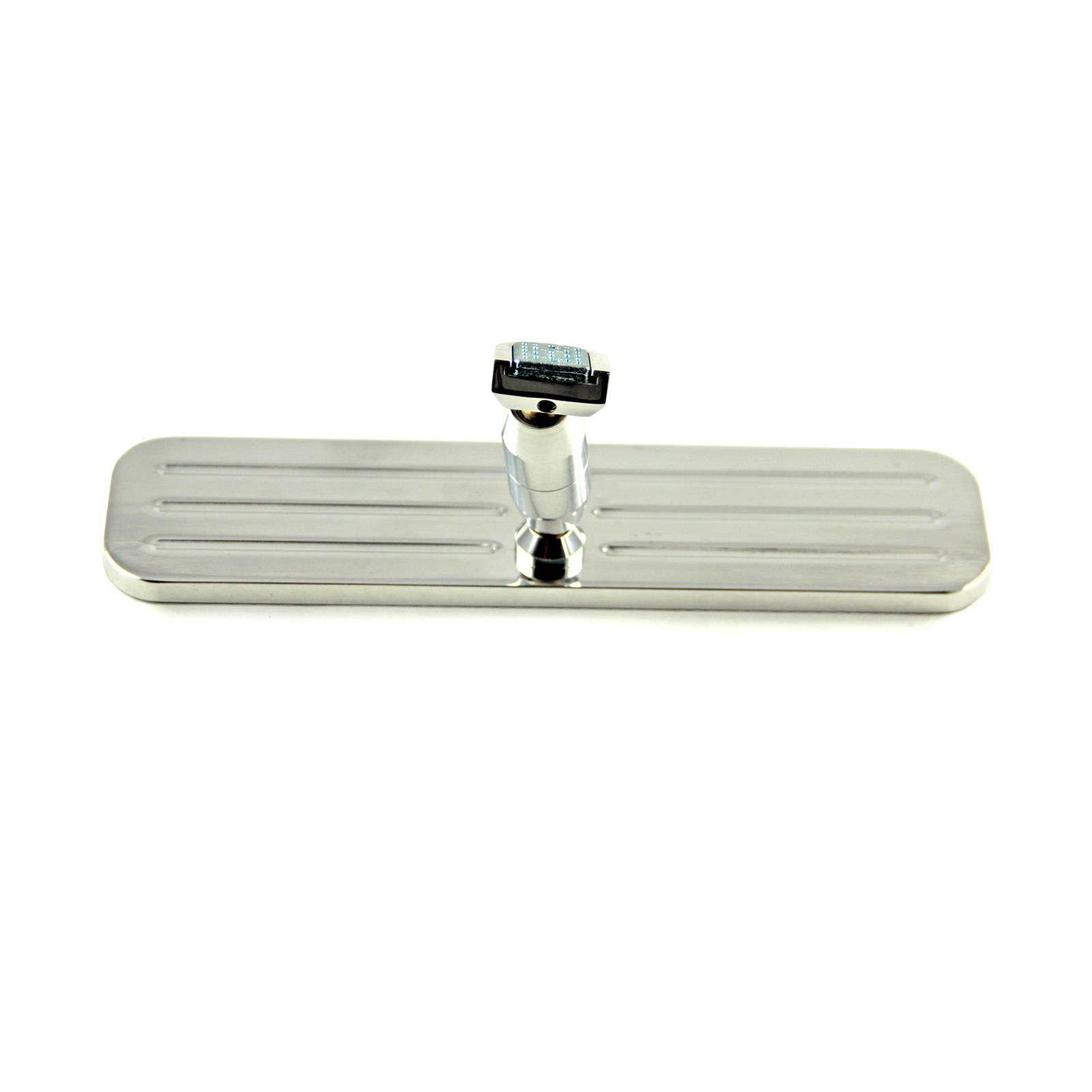 "Ball Milled Billet Aluminum 9 1/4"" Rear View Mirror"