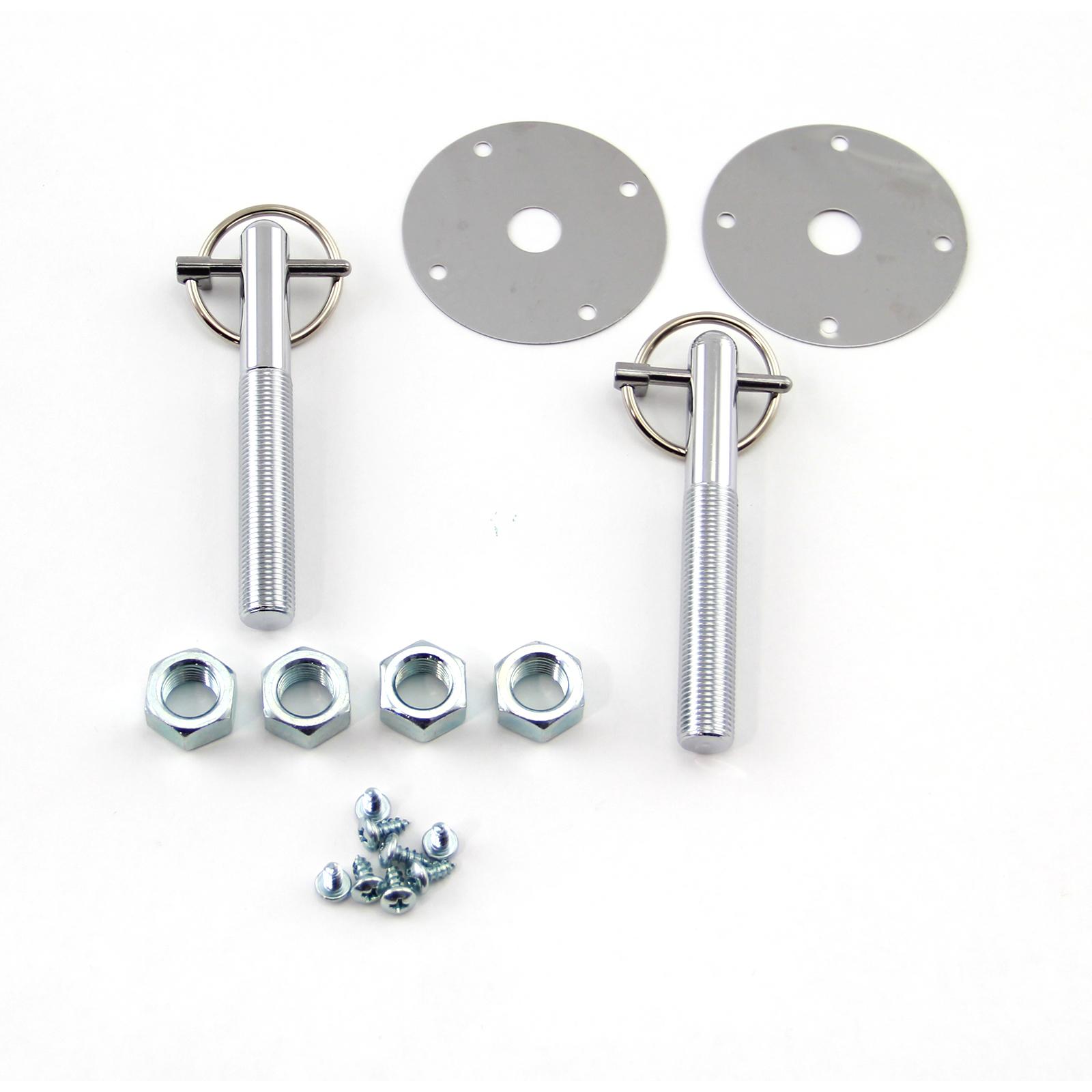 "Universal 3/16"" Flip Lock Style Hood Pin Kit"
