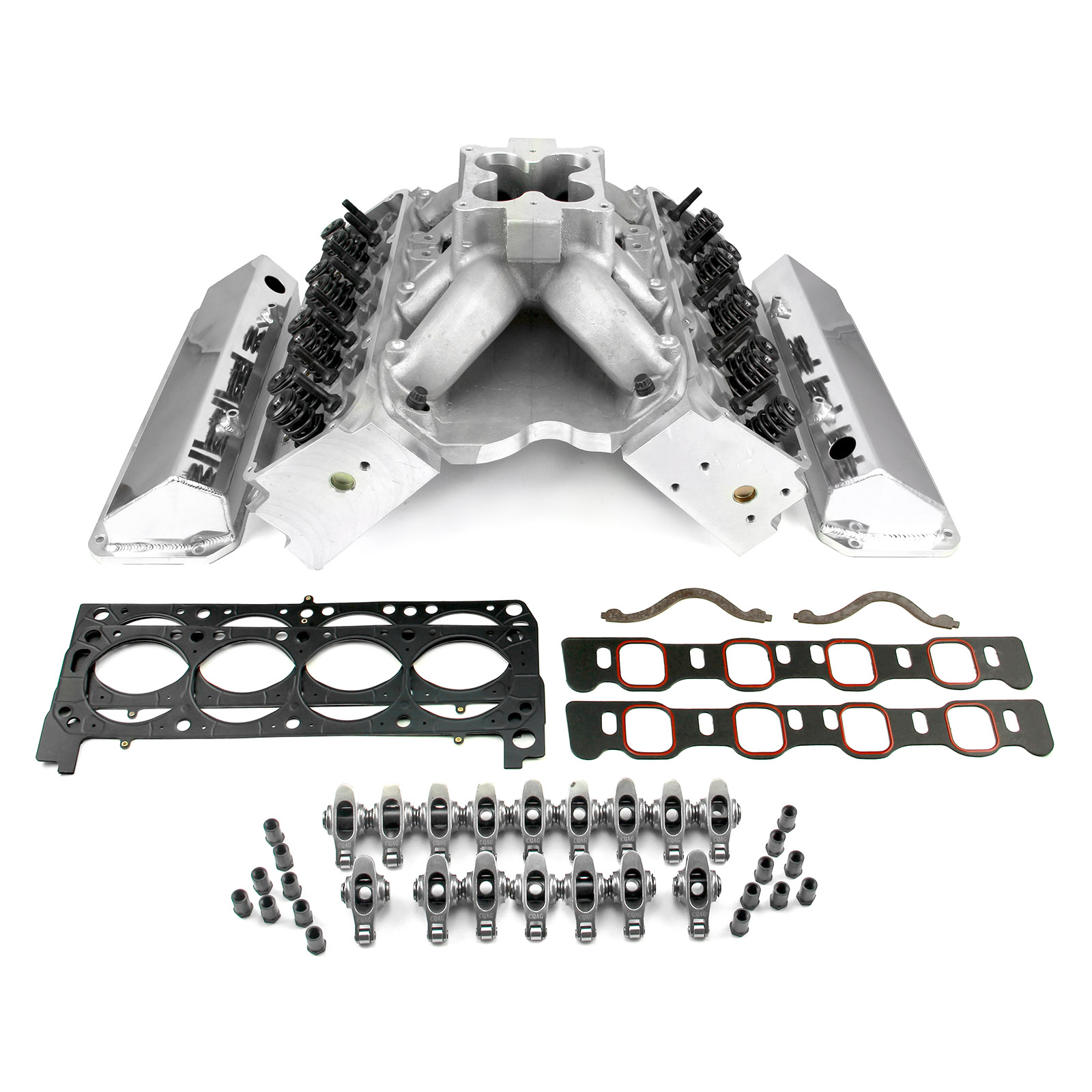 Ford 351C 9.2 Deck Fusion Manifold Hyd FT Cylinder Head Top End Engine Combo Kit