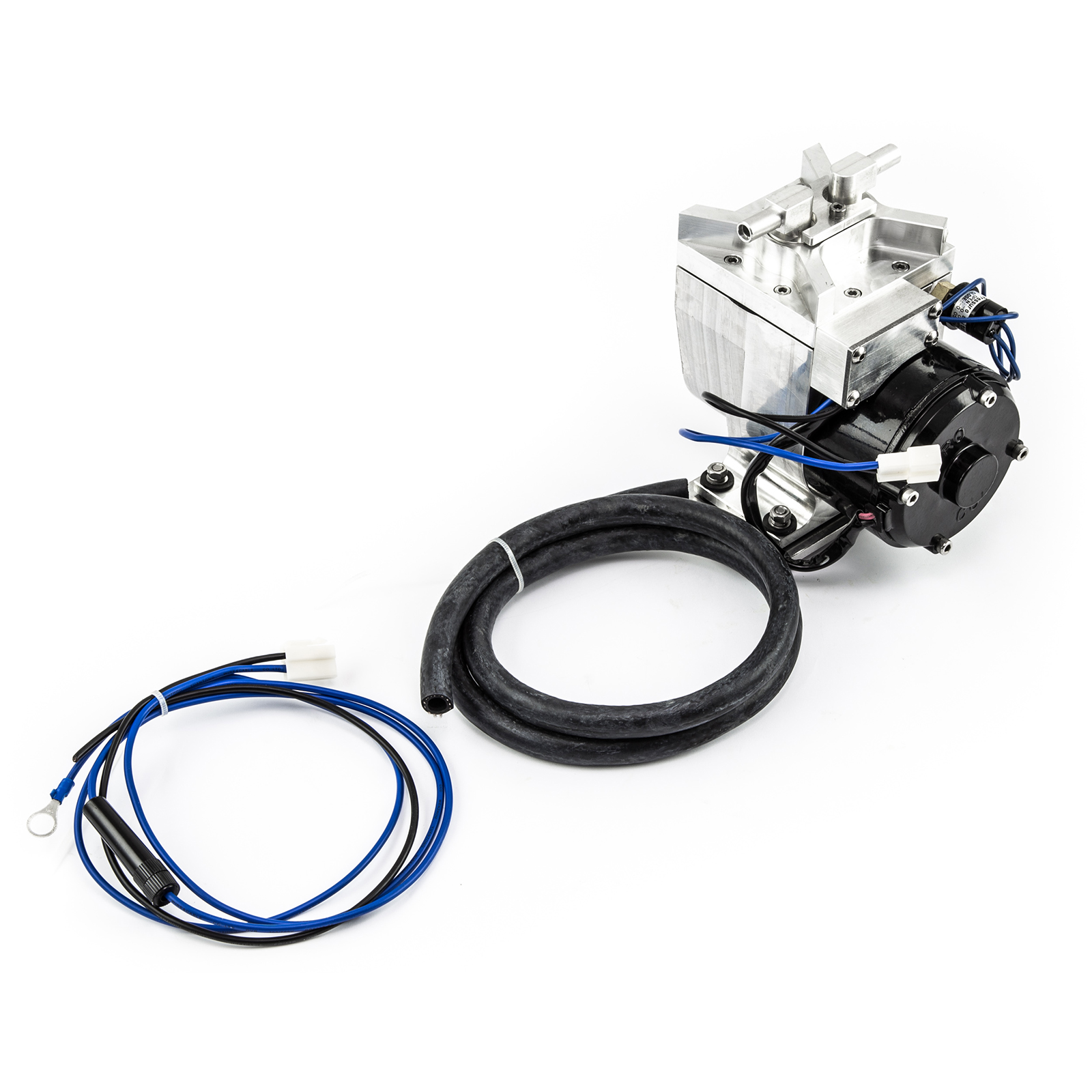 Billet Power Brake 12V Electric Vacuum Pump Street Kit