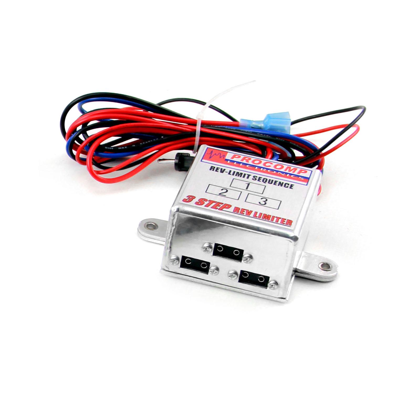 3-Step Multi-Step Module Selector Rev Limiter 6AL Compatible