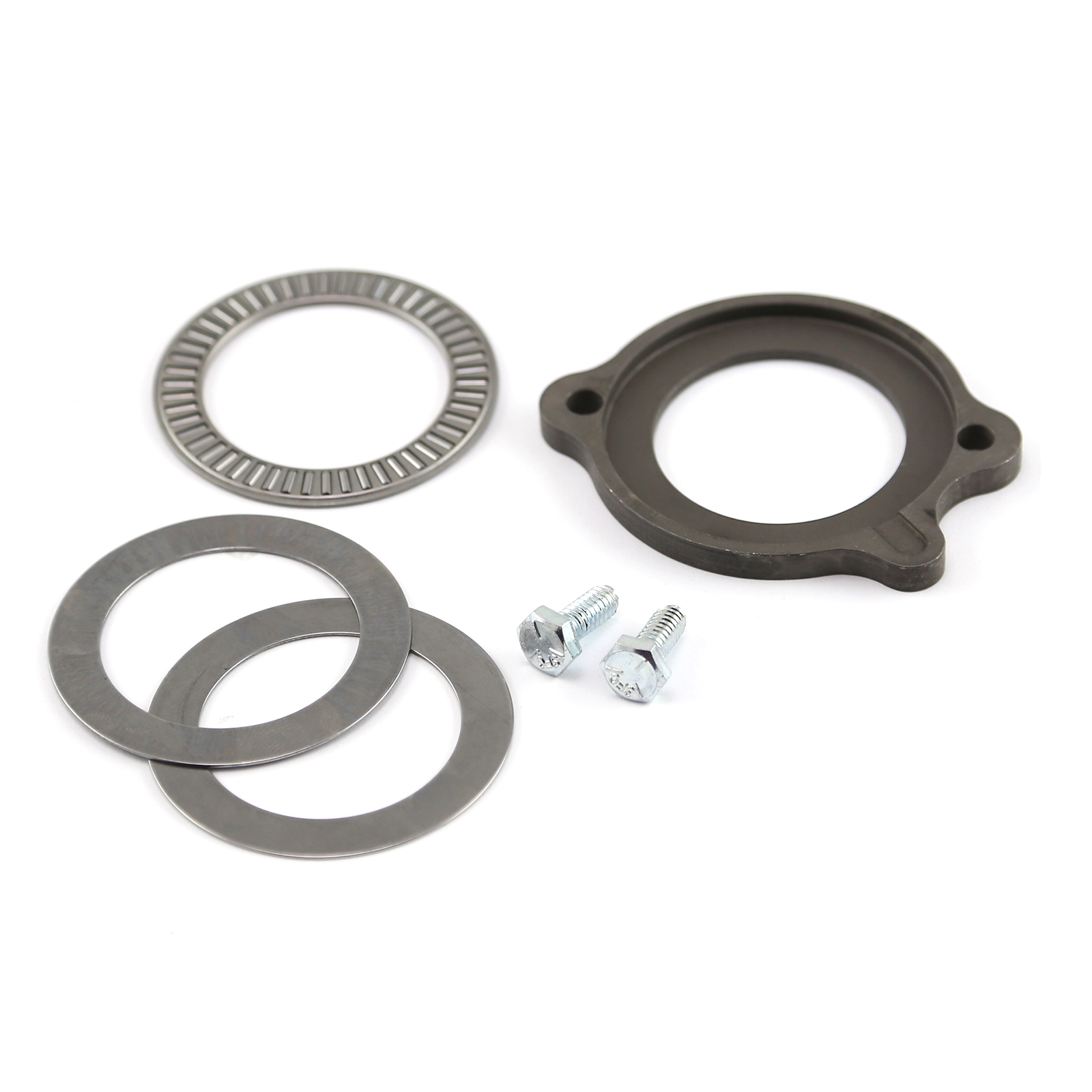 Ford SB 289 302 351 Windsor Camshaft Thrust Plate and Bearing Set w/ Hardware