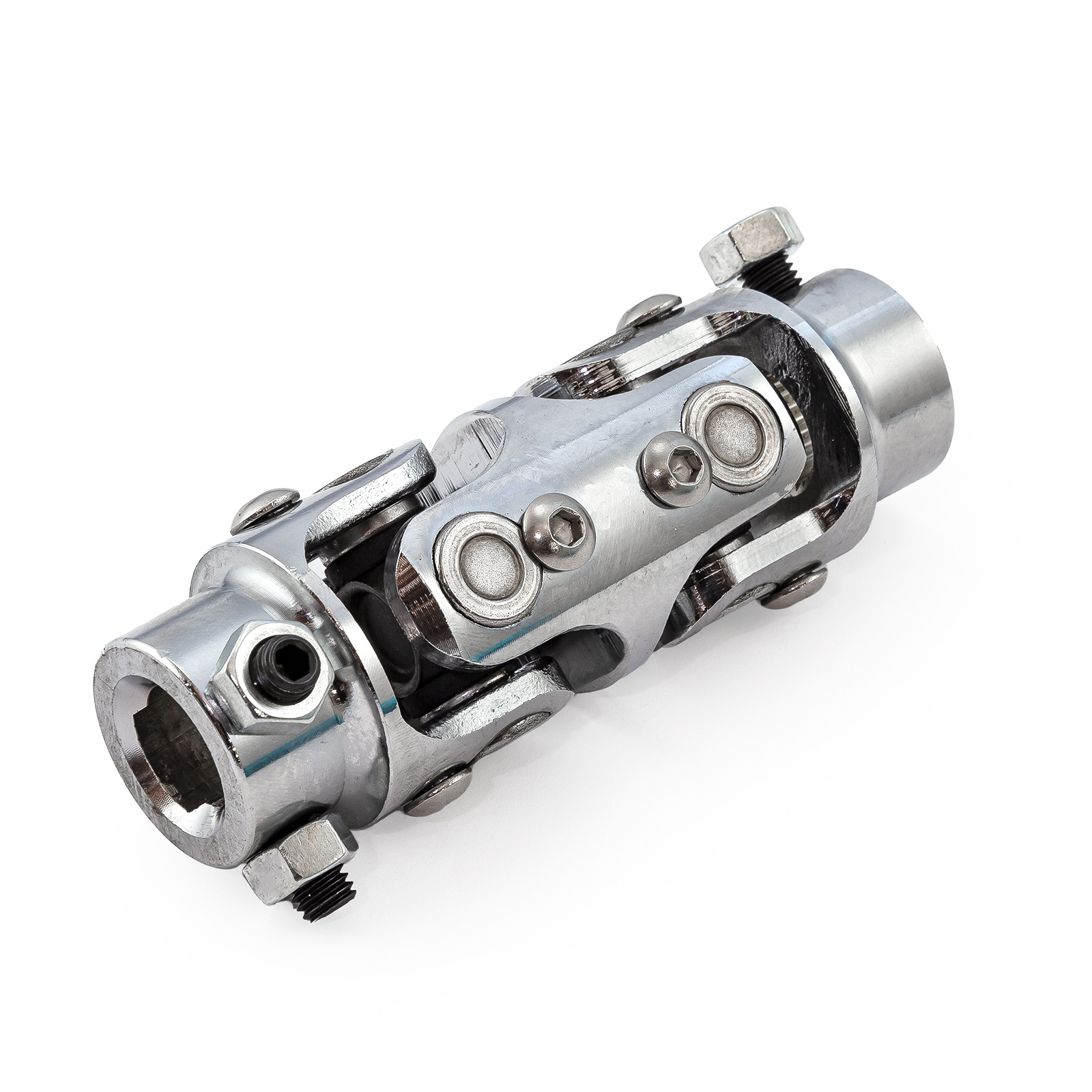 "3/4""-30 Spline X 3/4"" Double D Stainless Steel Steering U-Joint"