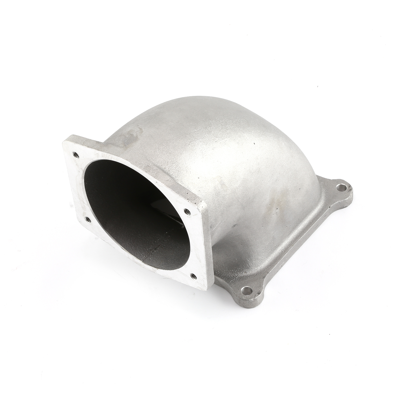 101mm EFI Throttle Body Race Elbow 4500 Carb Flange for LS2 Series 4 Bolt