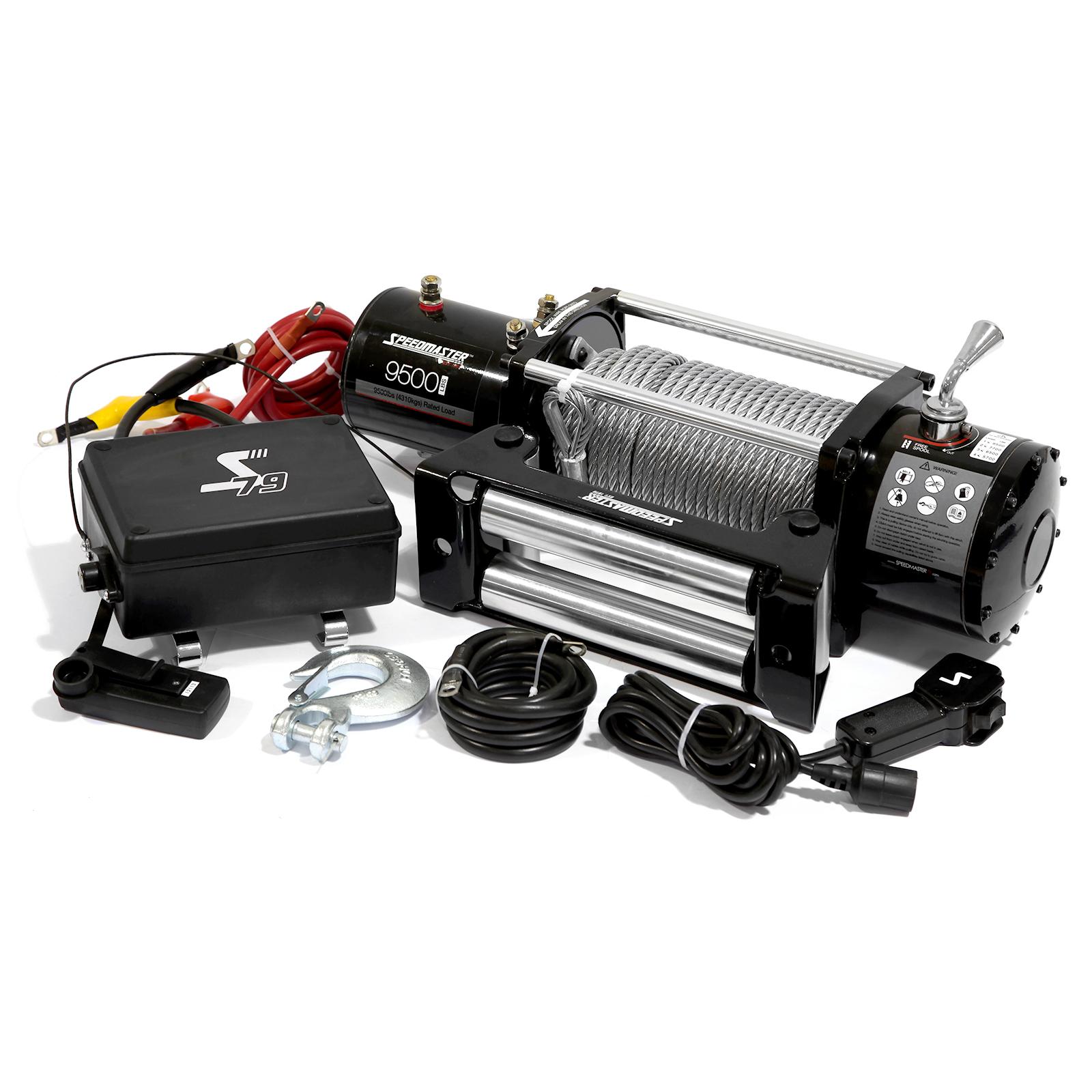 9500lbs / 4310kgs 12V Electric 4wd Winch Kit w/ Wireless Remote