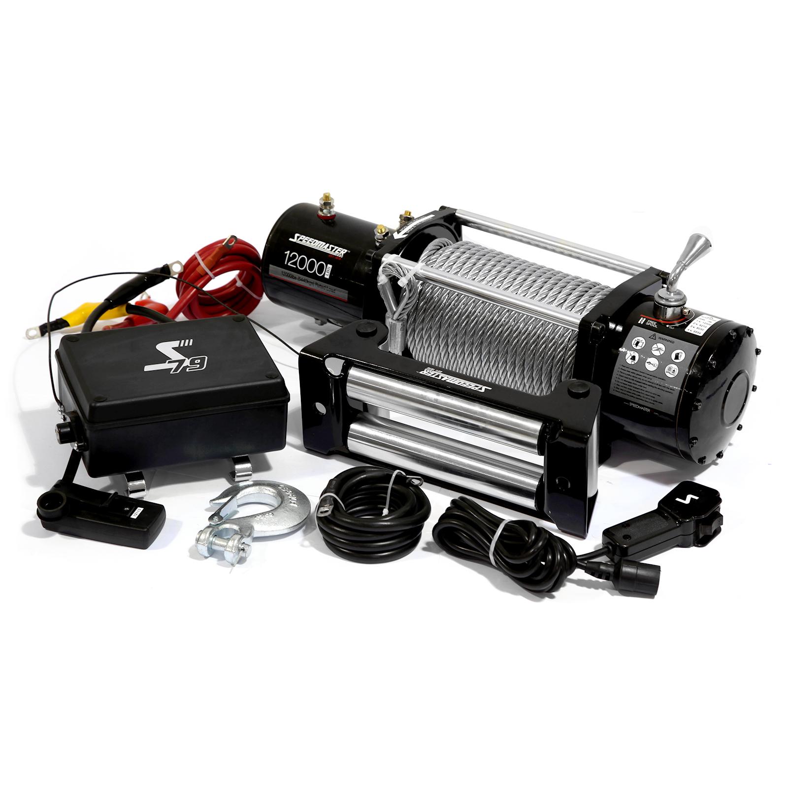 12000lbs / 5445kgs 12V Electric 4wd Winch Kit w/ Wireless Remote