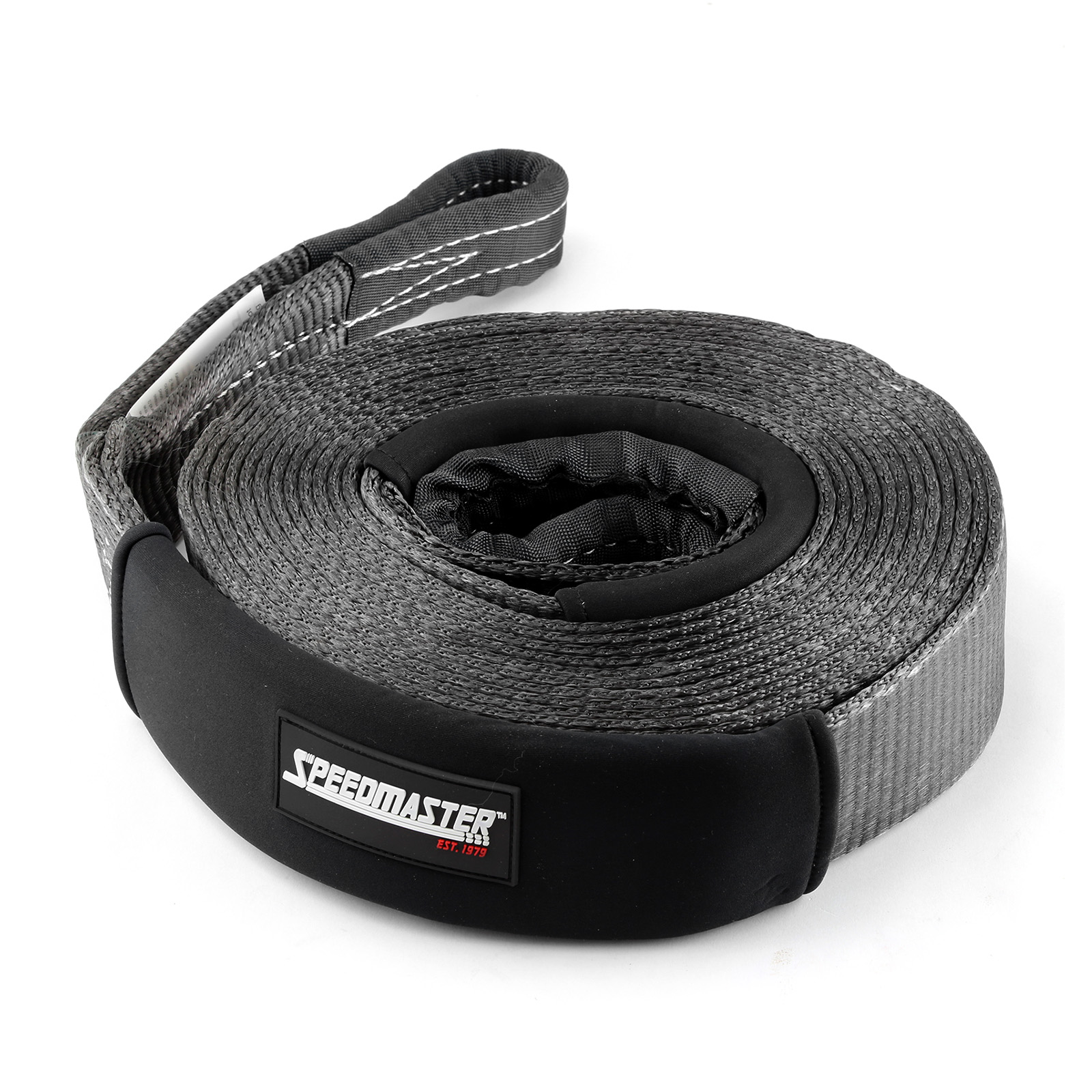 """Speedmaster 24000lbs / 11000kgs 4wd Recovery Tow Snatch Strap 4"""" x 30ft"""