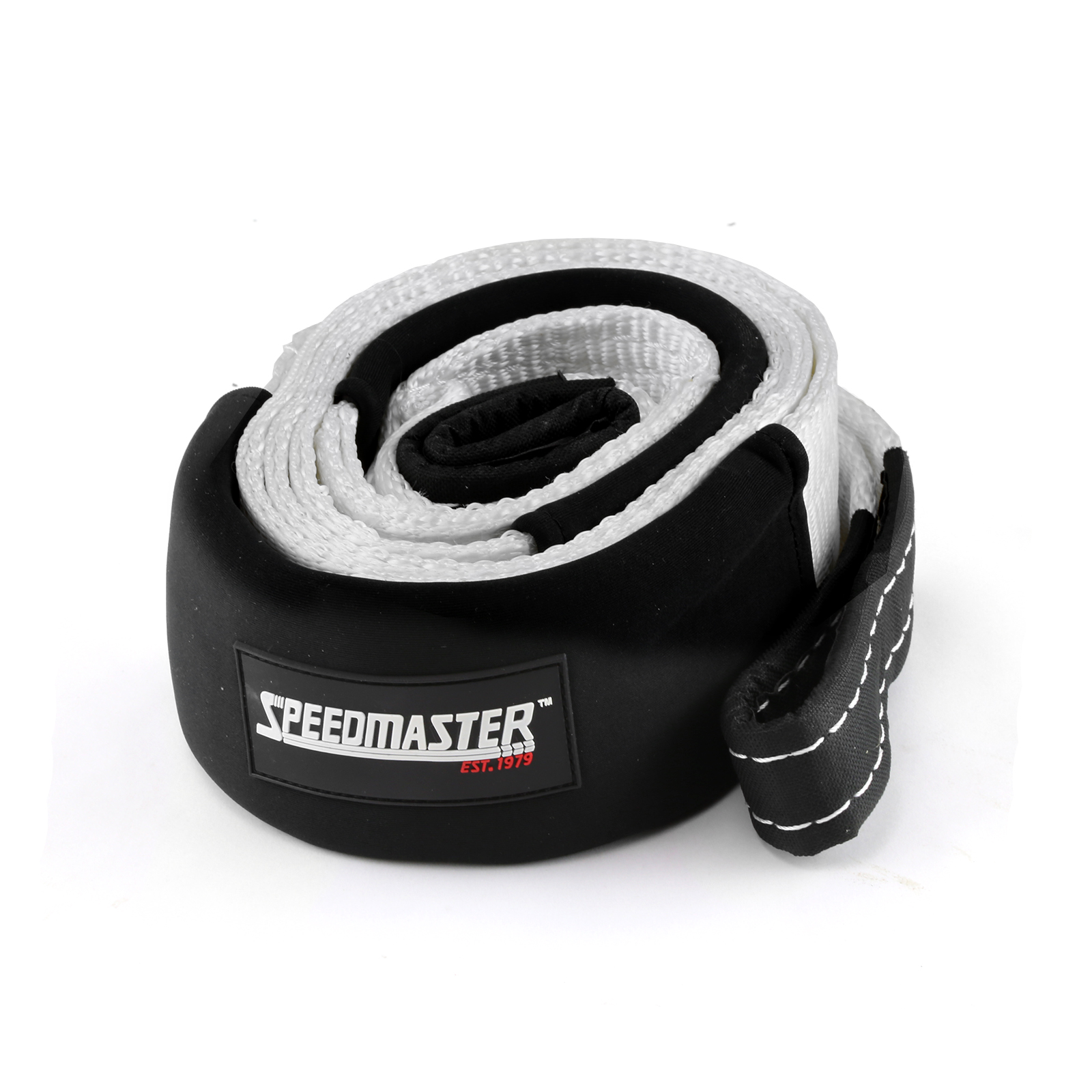 """Speedmaster 26500lbs / 12000kgs 4wd Recovery Tow Tree Trunk Protector 3"""" x 16ft"""