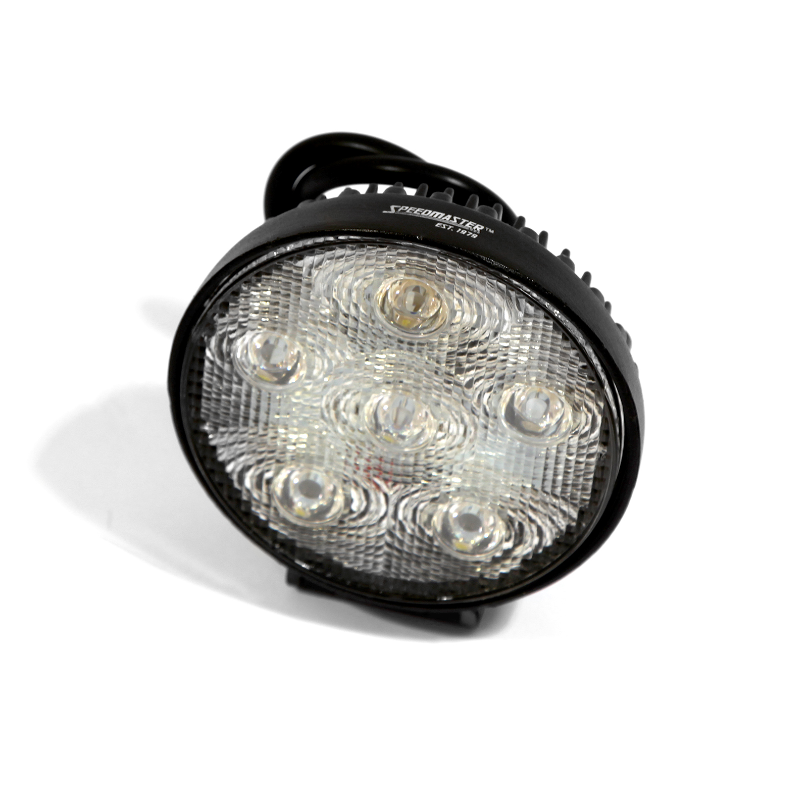 "4"" 18W LED Work Light Round Fog Offroad Driving Lamp SUV Car Boat 4WD"
