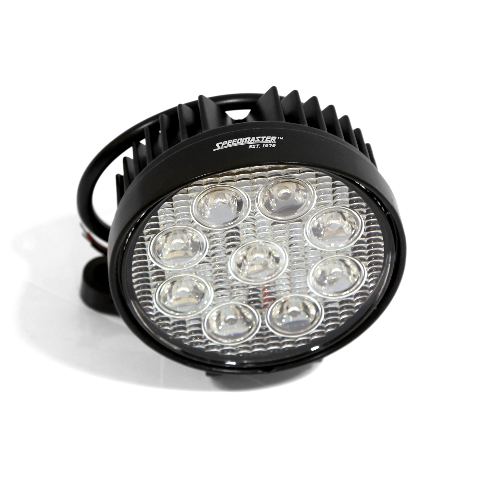 "4"" 27W LED Work Light Round Fog Offroad Driving Lamp SUV Car Boat 4WD"